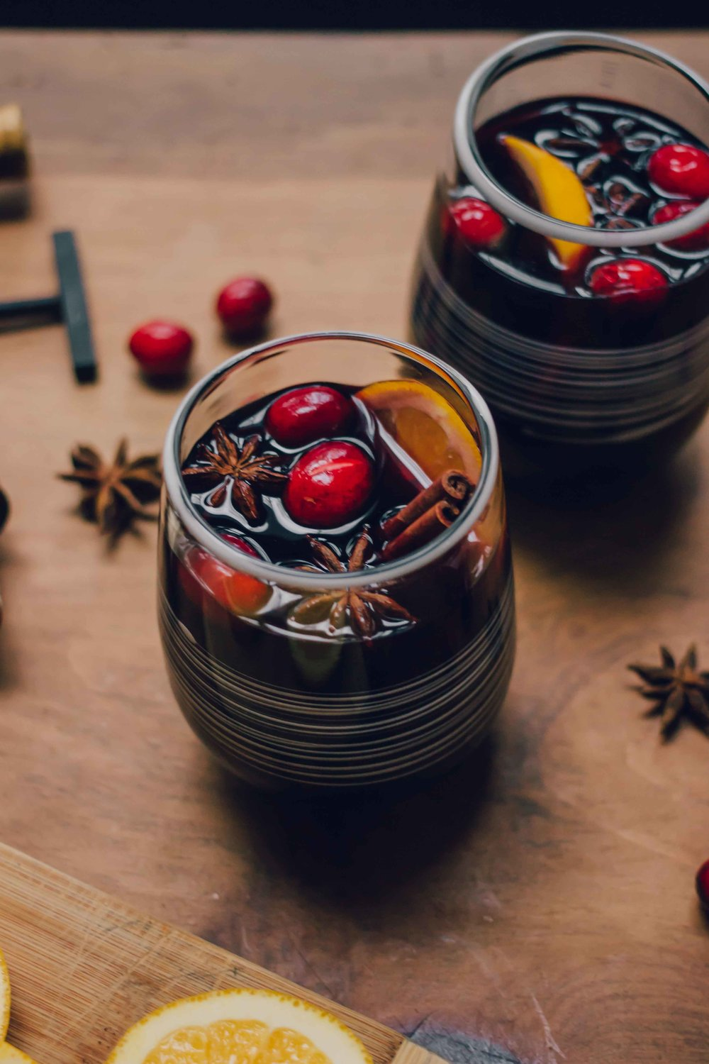 Austrian Glühwein Mulled Wine - The Well Essentials #christmas #wine #cocktails #winter #austria