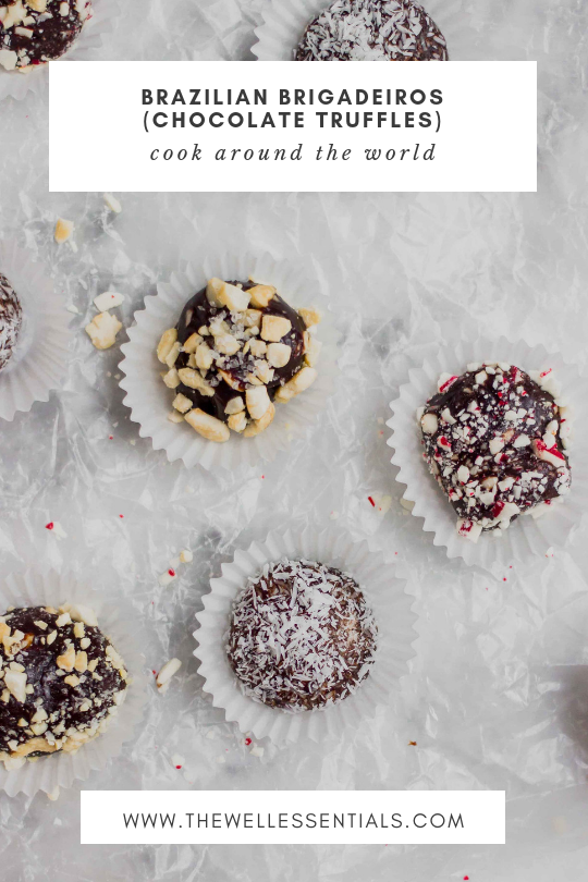 Brazilian Brigadeiros Chocolate Truffles - The Well Essentials #glutenfree