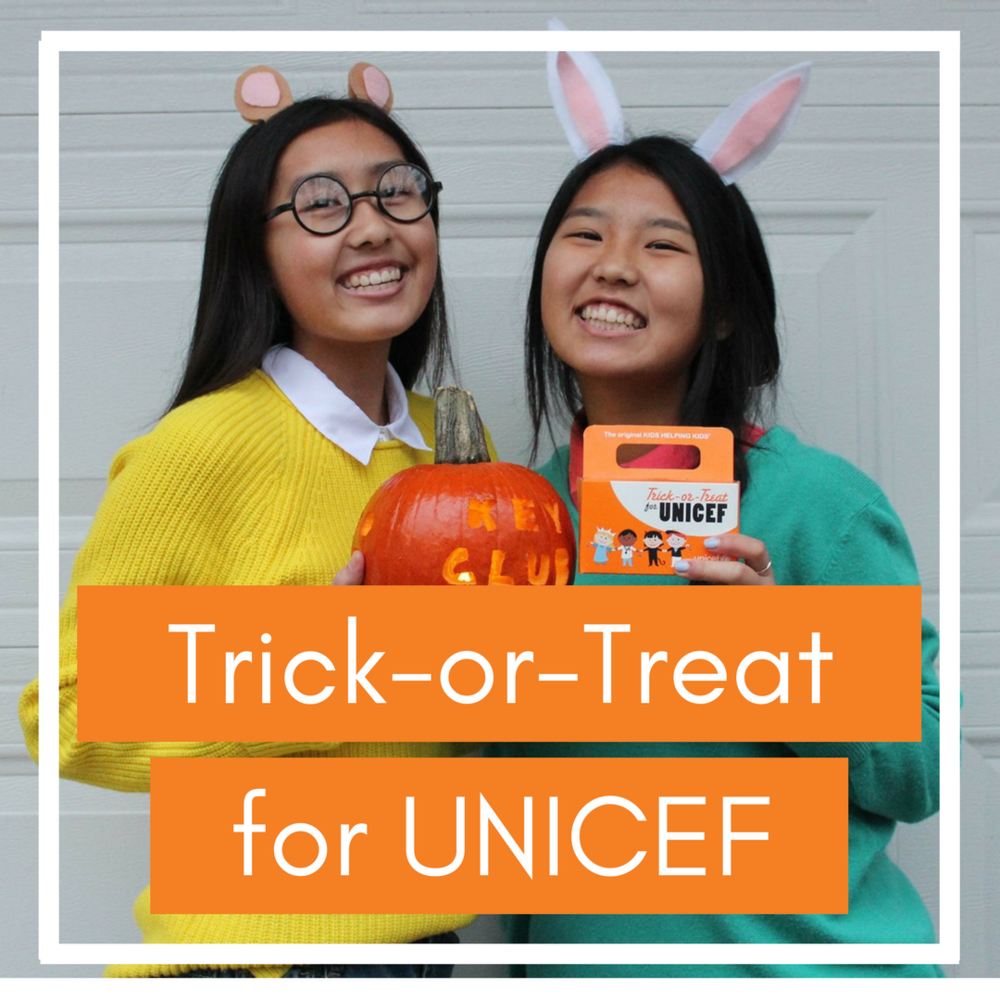 Read about  Trick-or-Treat for UNICEF  and how your club can get involved!