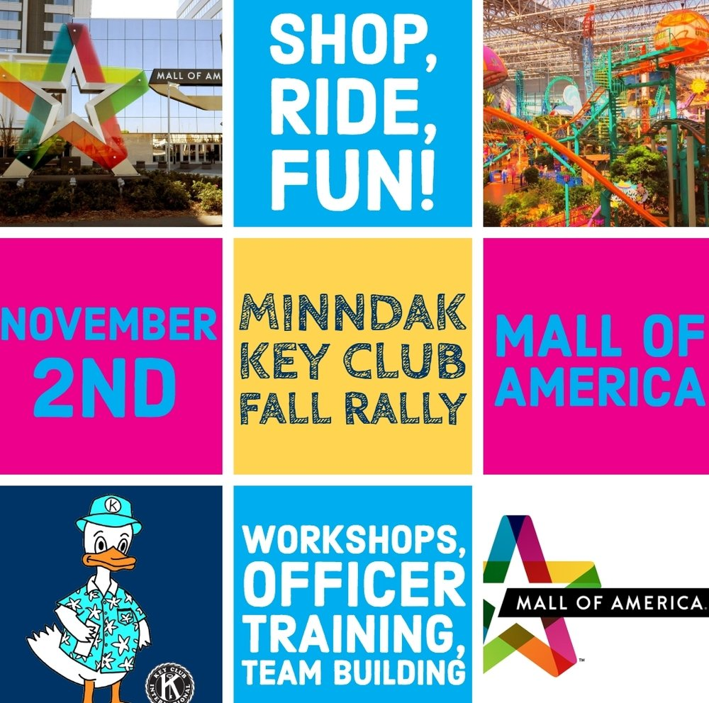Come back and visit minndakkeyclub.org again to get more updates on all of the amazing thing Fall Rally 2018 has to offer!