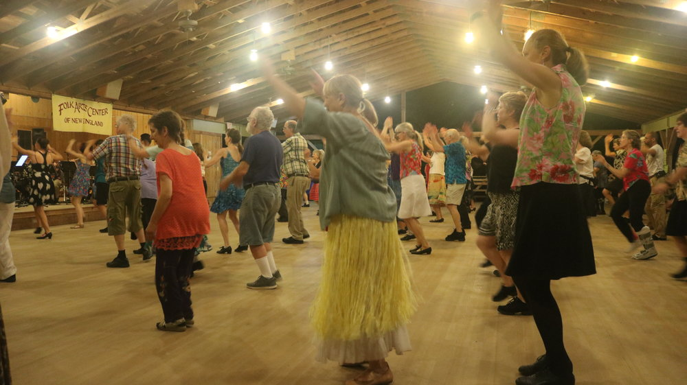 This week is international folk dance week! I like all the circle dances. They did a dance to Hine Ma Tov that I wanted to take a video of to show you, but my battery was too low, so here's a photo of it. Also the dress theme was Hawaiian.