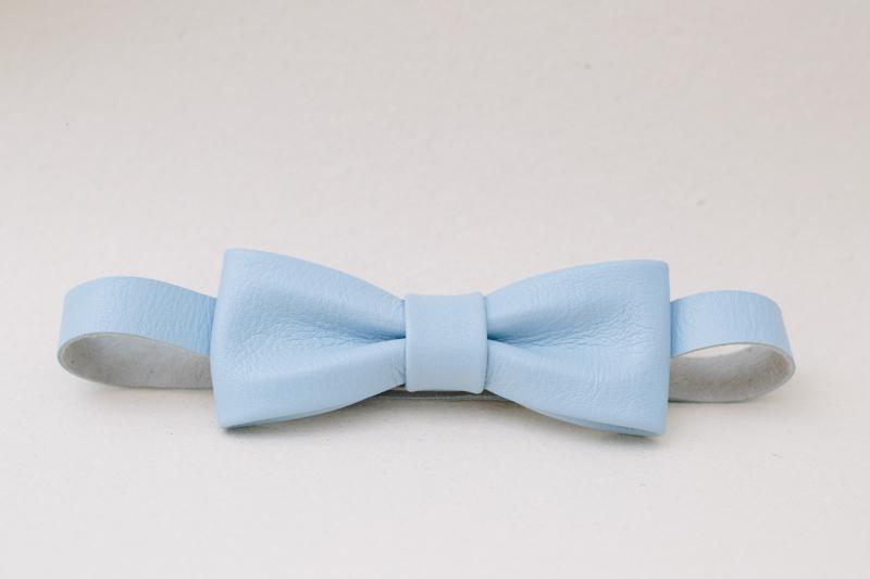 Cod: B4.3 | Slim Couro Azul Claro | [R$ 100,00]