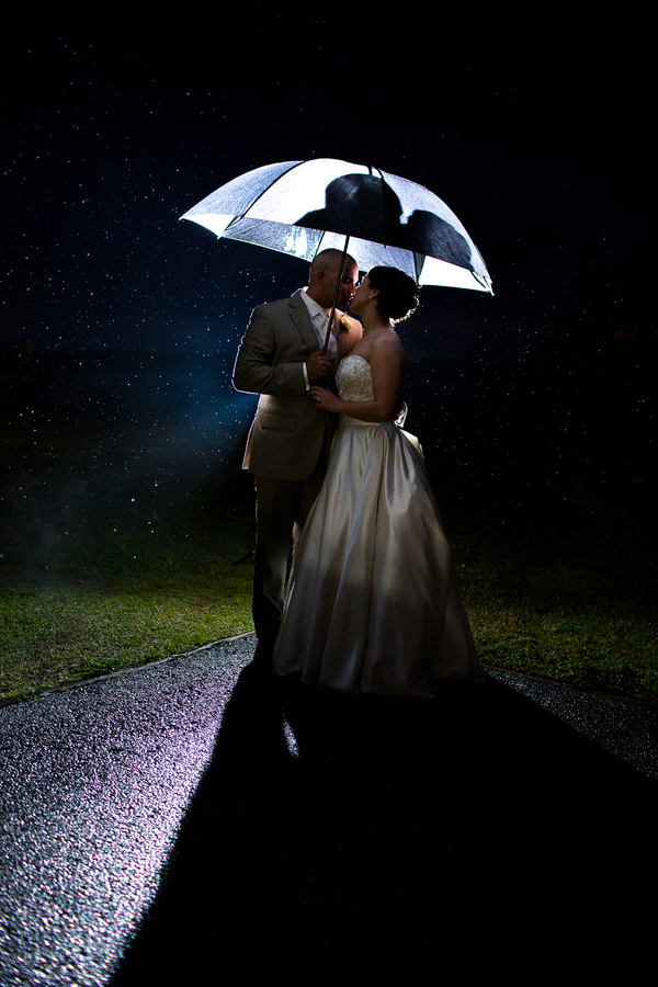 Romance in the Rain at the Planter's Club, Suffolk, VA