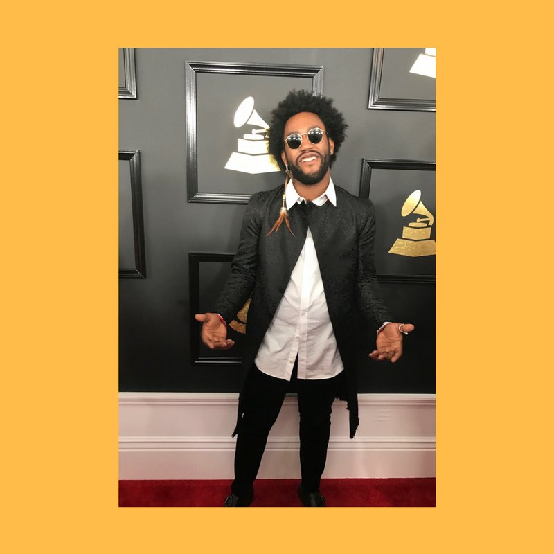 CUSTOM GRAMMYS FIT ON PETER COTTONTALE
