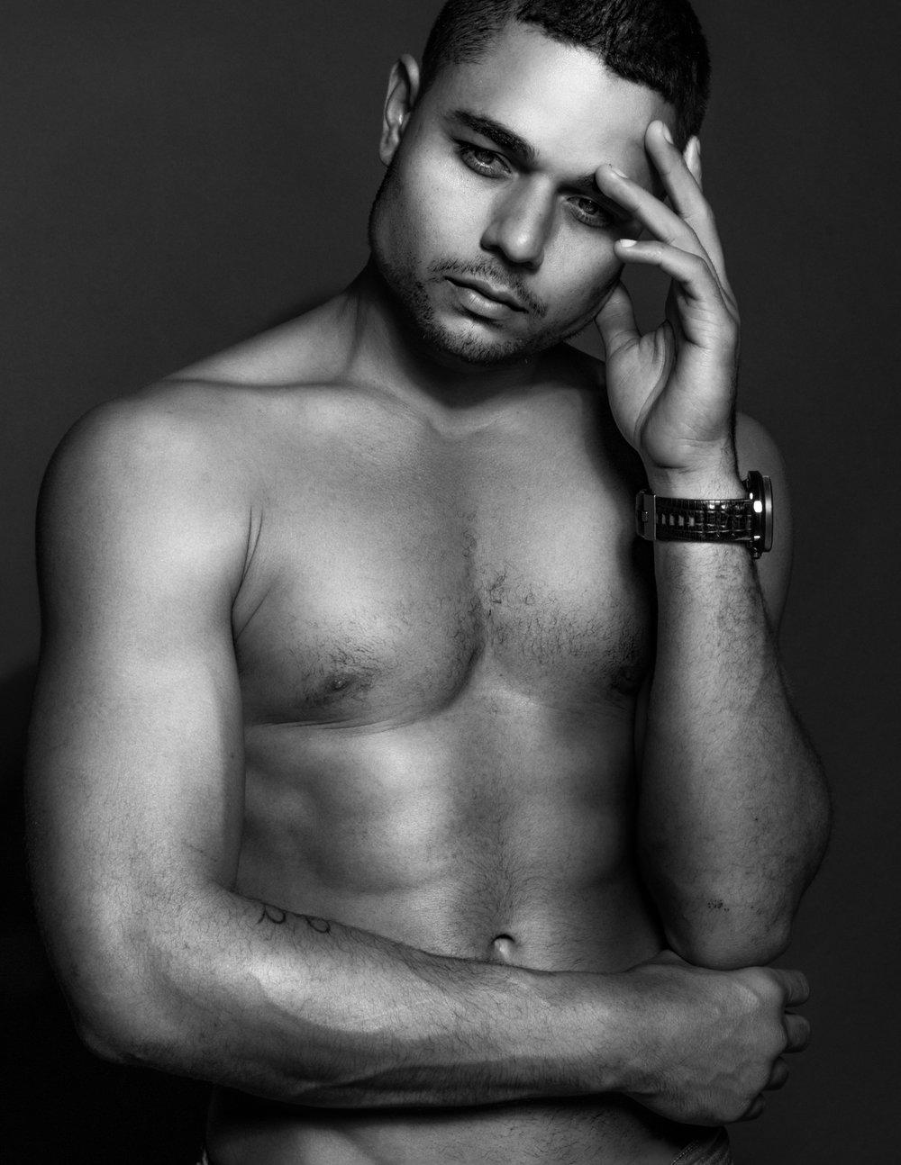 Model - Jeremiah Buren