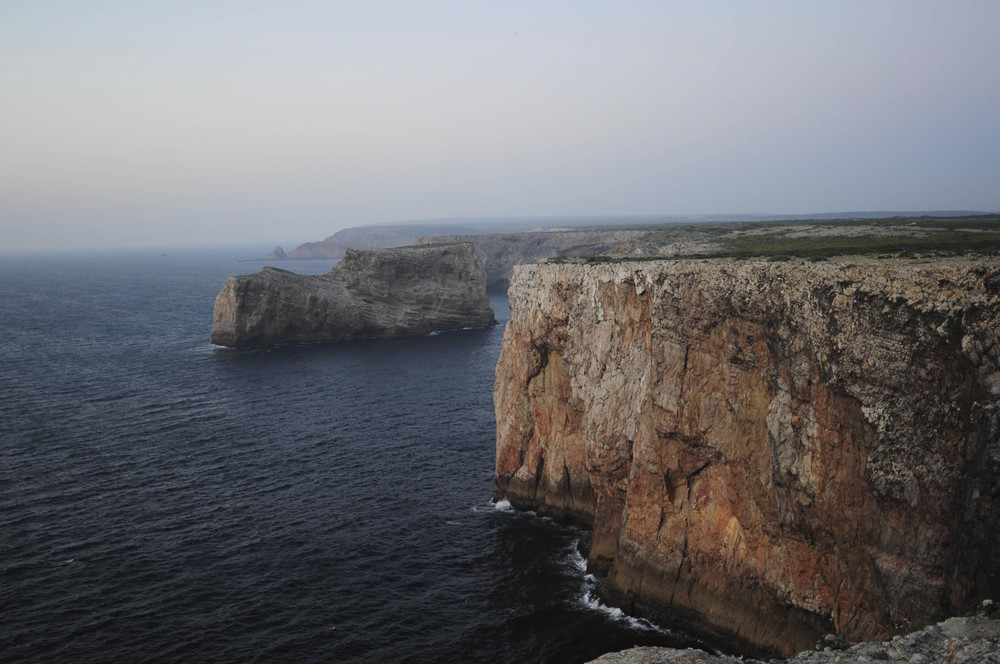 cliffs in sagres, southern portugal are a must-see