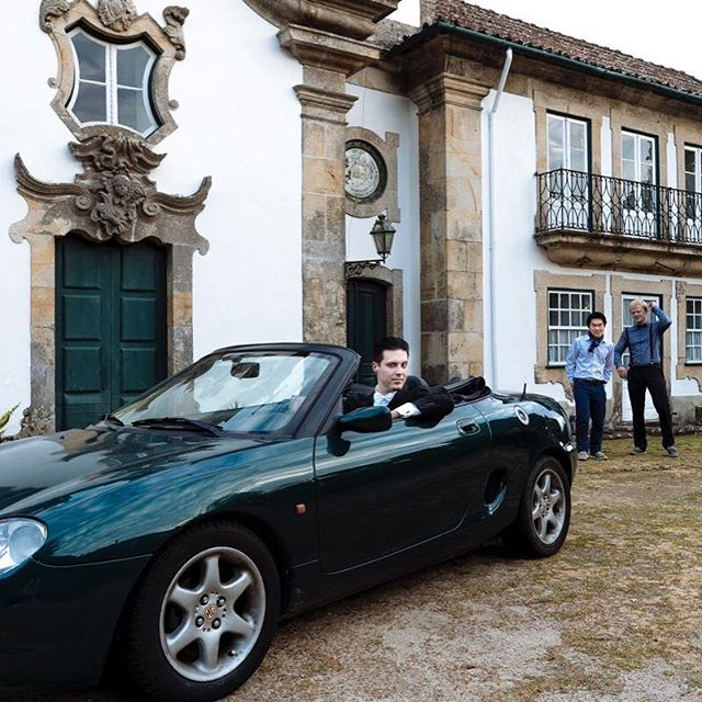 That moment when your friend says here, have the keys to my car ;) Thanks Jose @outeirotuias.manorhouse for the incredible time this month. See you again soon. Ti amo portugal