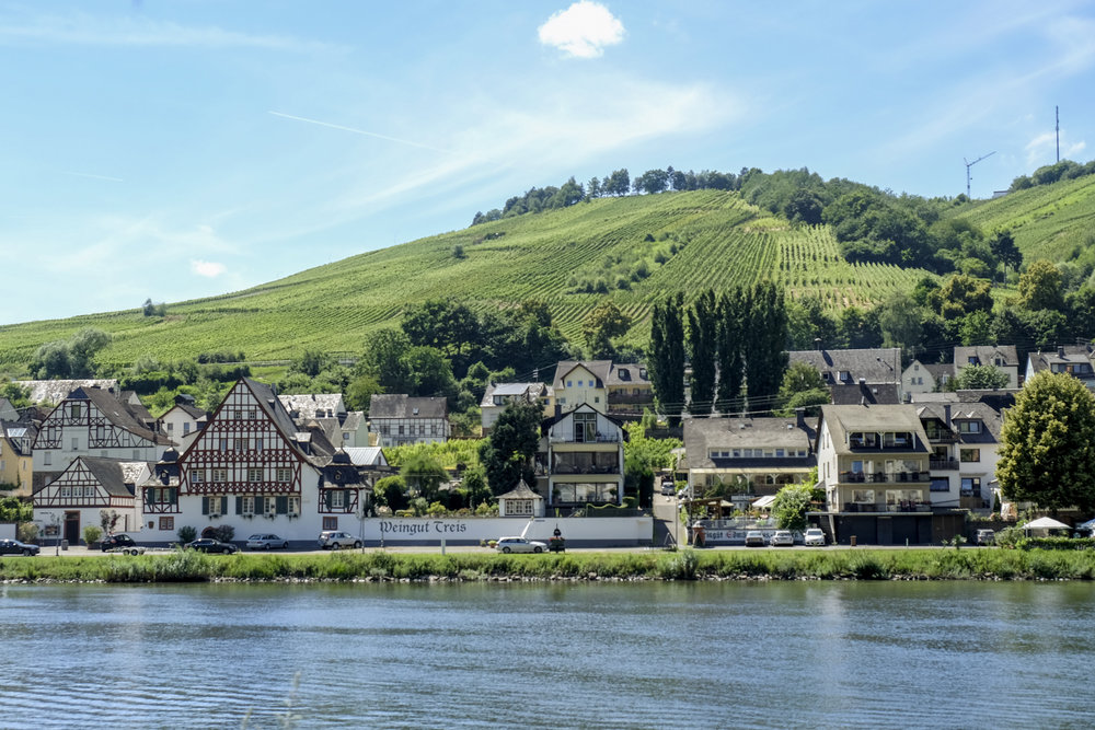 the mosel river in germany hosts more wine fests than you can count