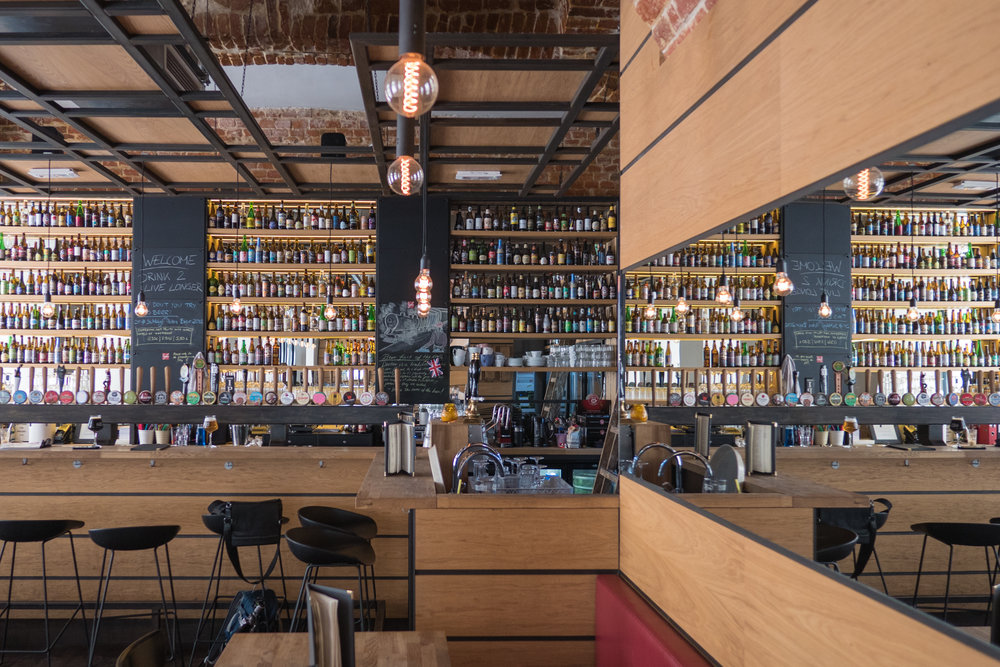 men's dine in sienna has over 250 beers available