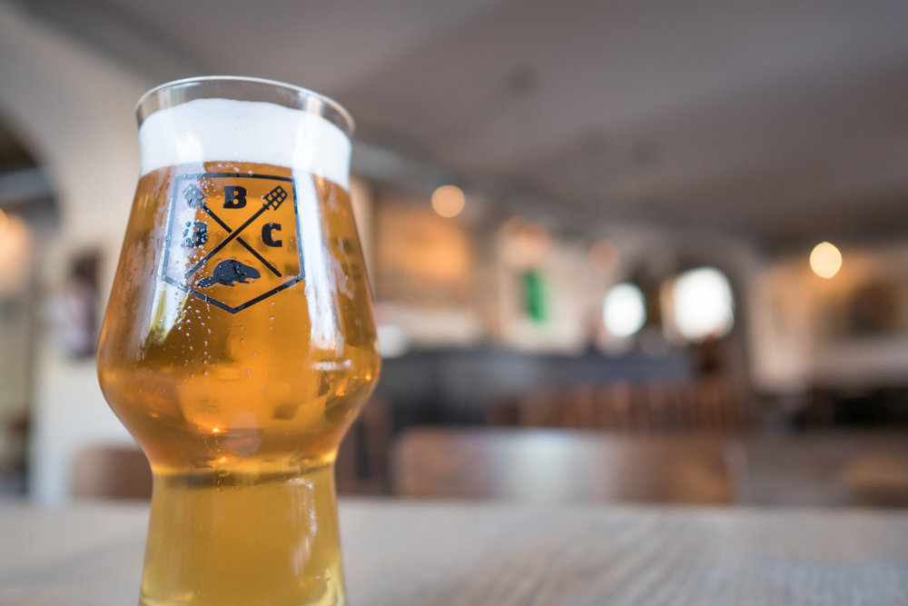 enjoy a pint or a flight at beaver brewing company in Vienna
