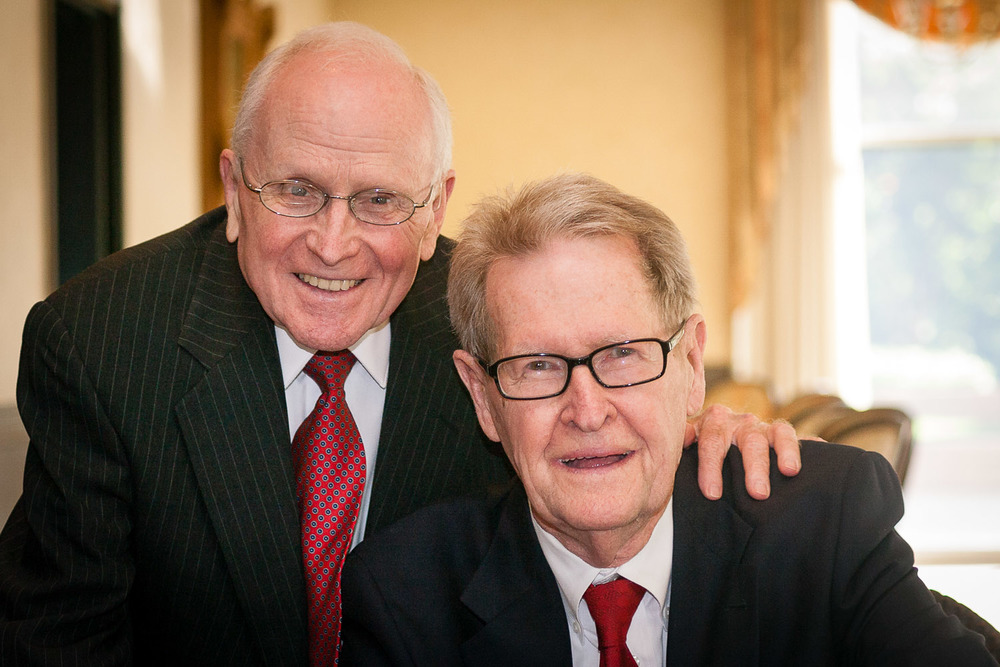 Jack Evans and George Harris, founders of The Dallas Way.  Learn More →