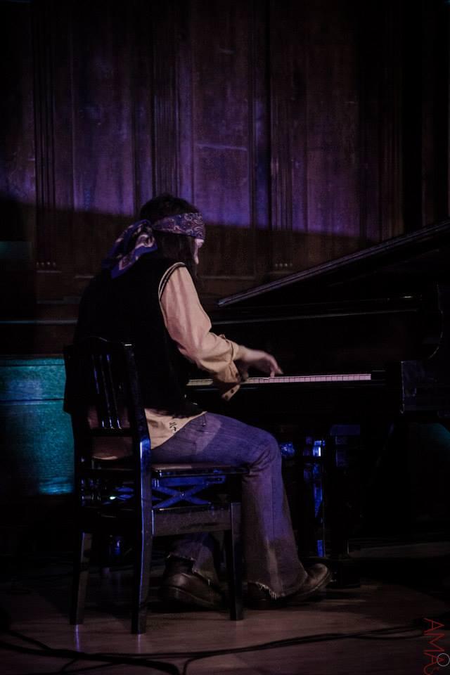 Jazz pianist, Jimi James Fraser (Former member of Canvas)