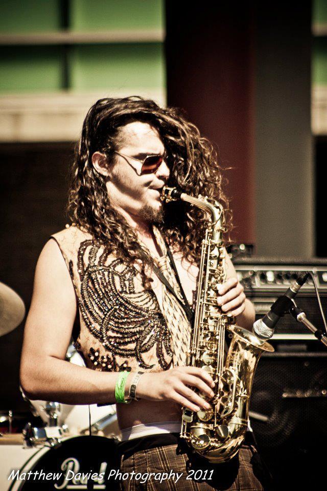 Peter Ransford, Sax, flute, guitar