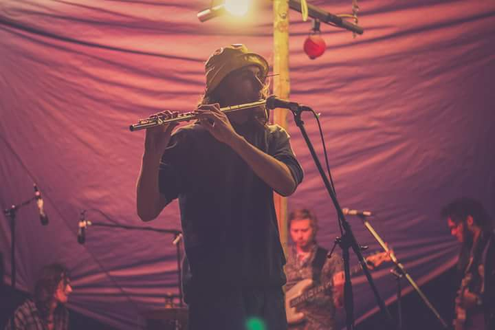 Olly Happyness on Flute