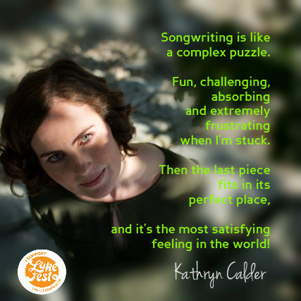 Kathryn Calder on the songwriting process