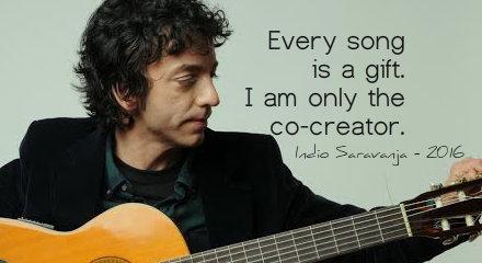 Indio Saravanja on songwriting, 2016