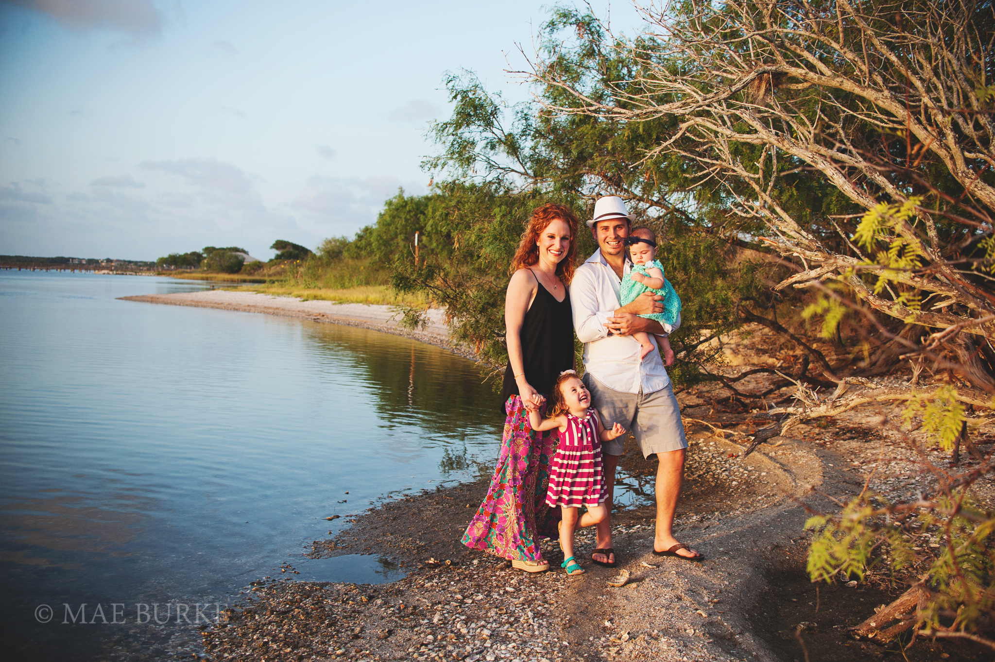 Family of Four on the Bay with Mae Burke Photography - 6