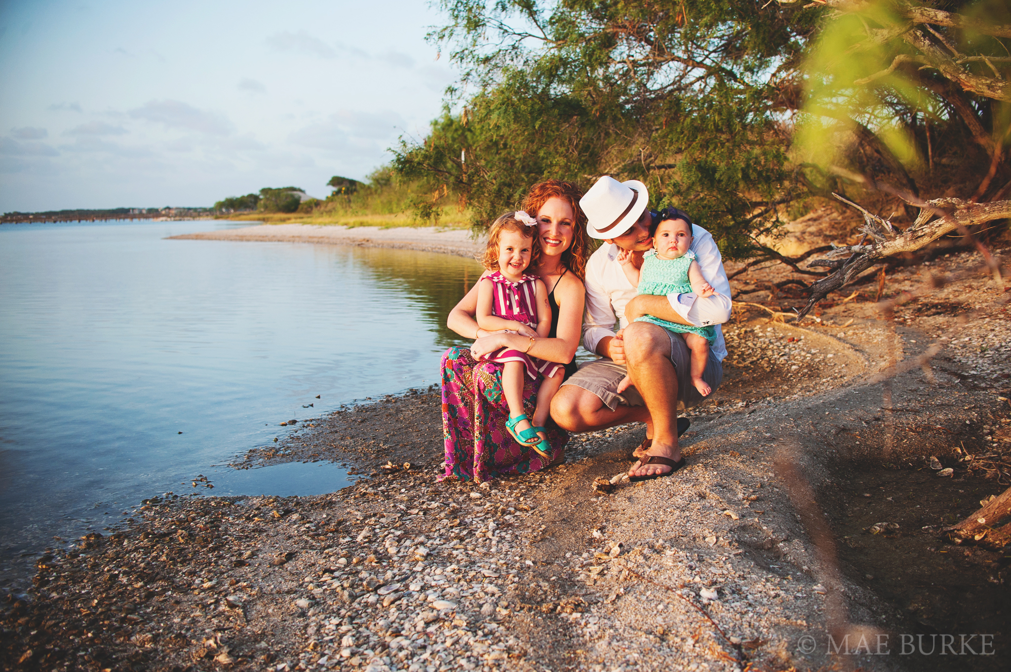 Family of Four on the Bay with Mae Burke Photography - 8