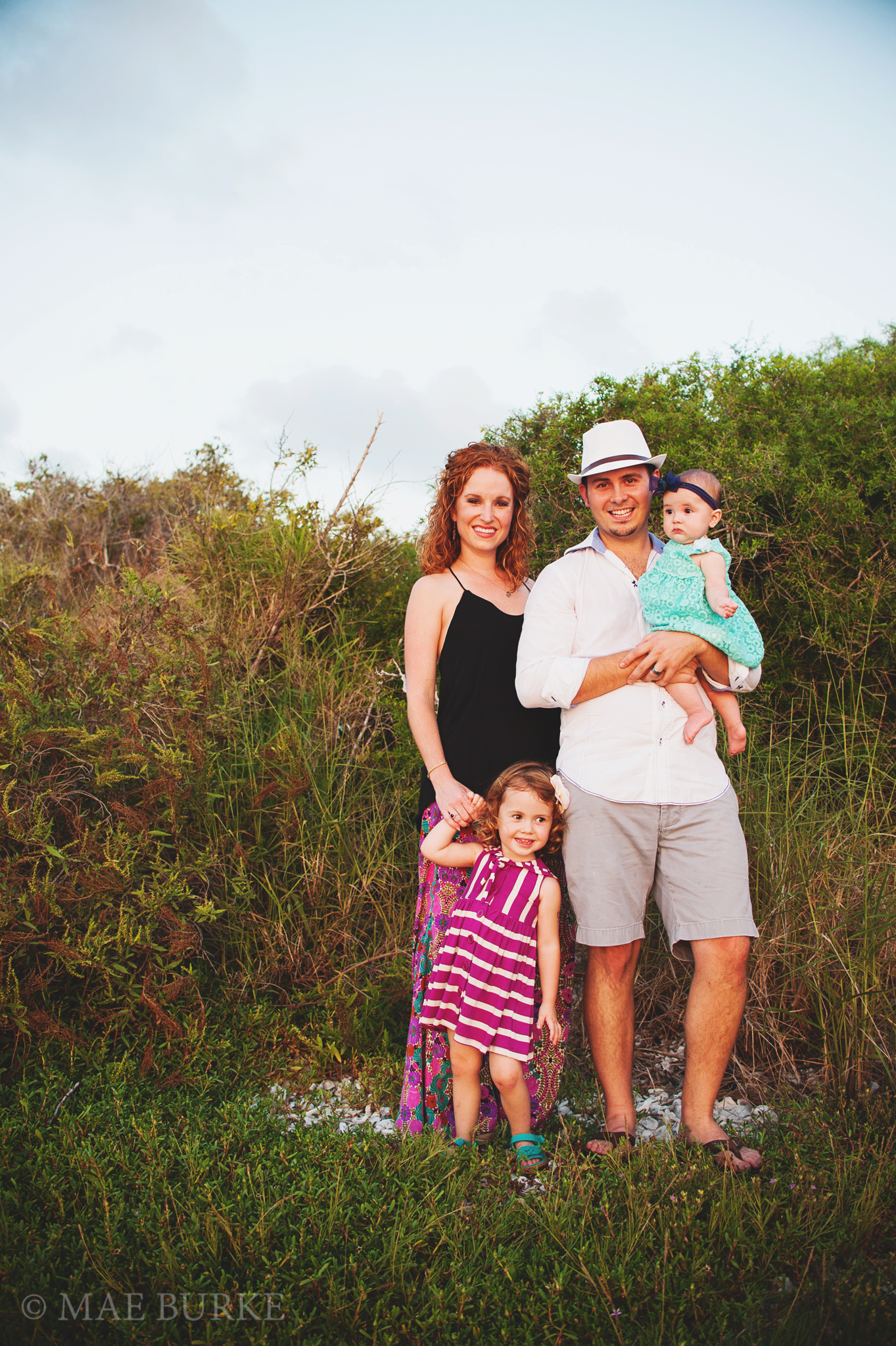 Family of Four on the Bay with Mae Burke Photography - 21