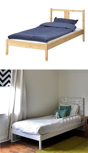 IKEA Bed Before & After