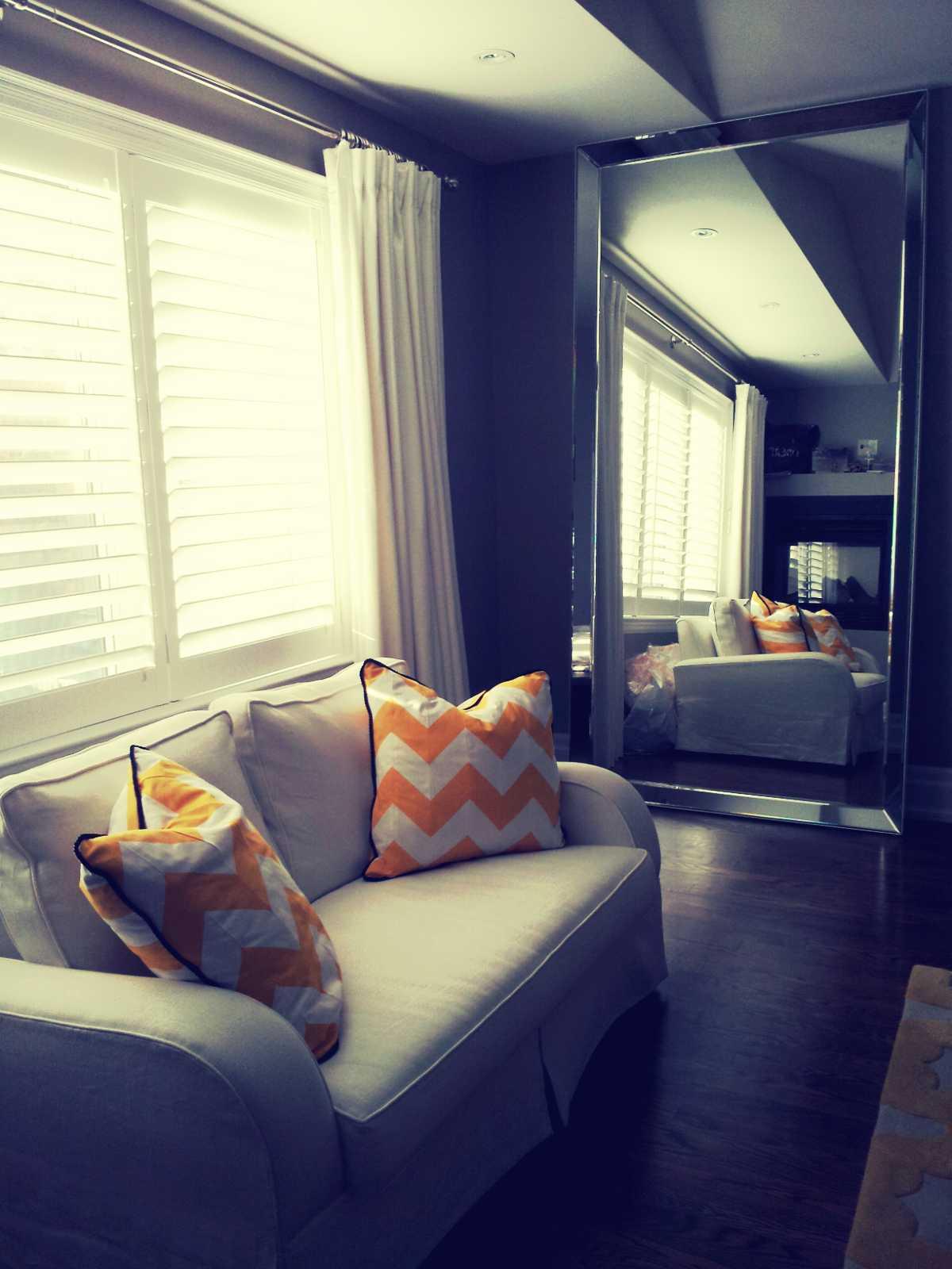 Master Bedroom, Sofa + Mirror