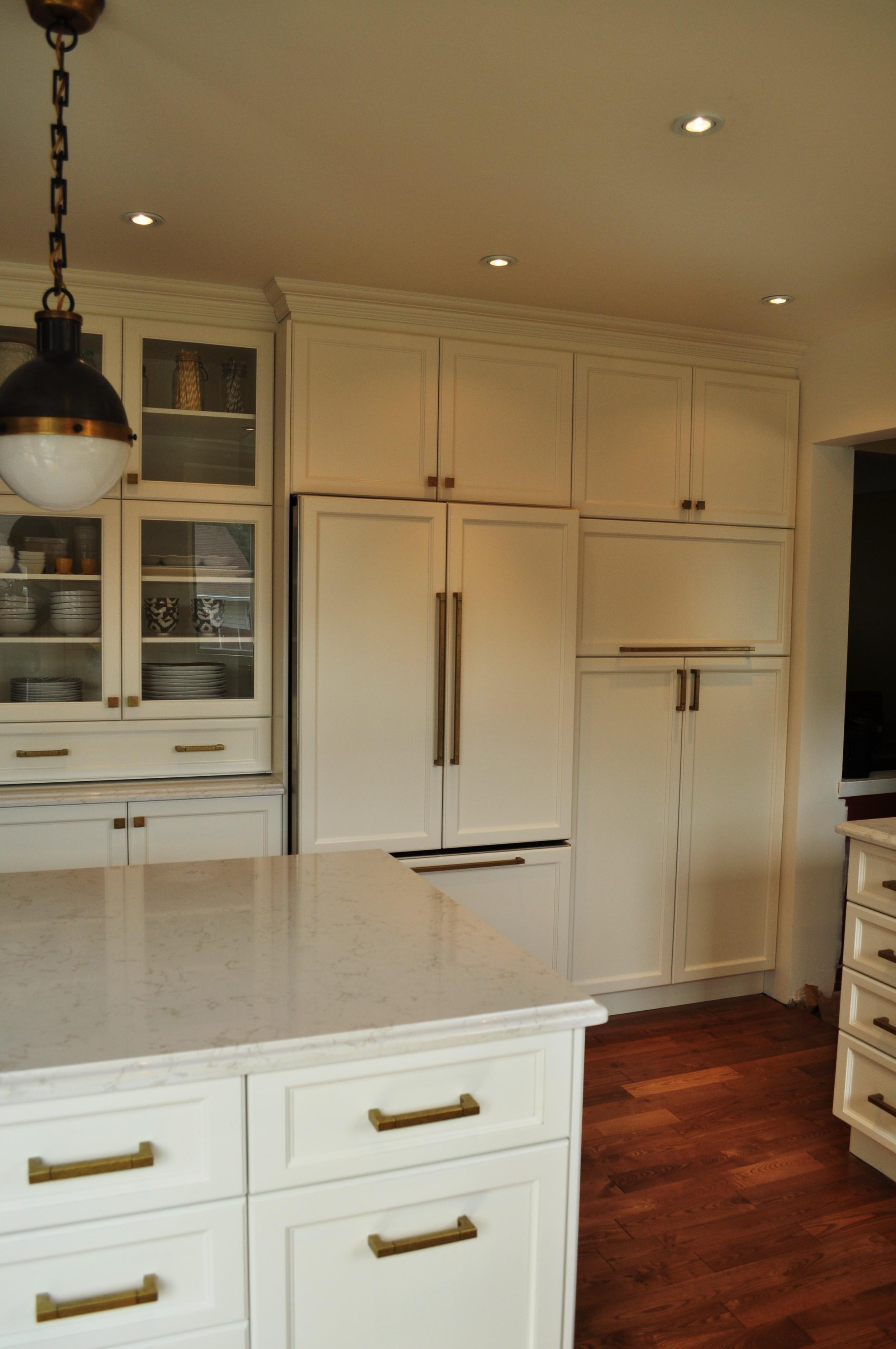 Velvet Toolbox Kitchen, view of Fridge