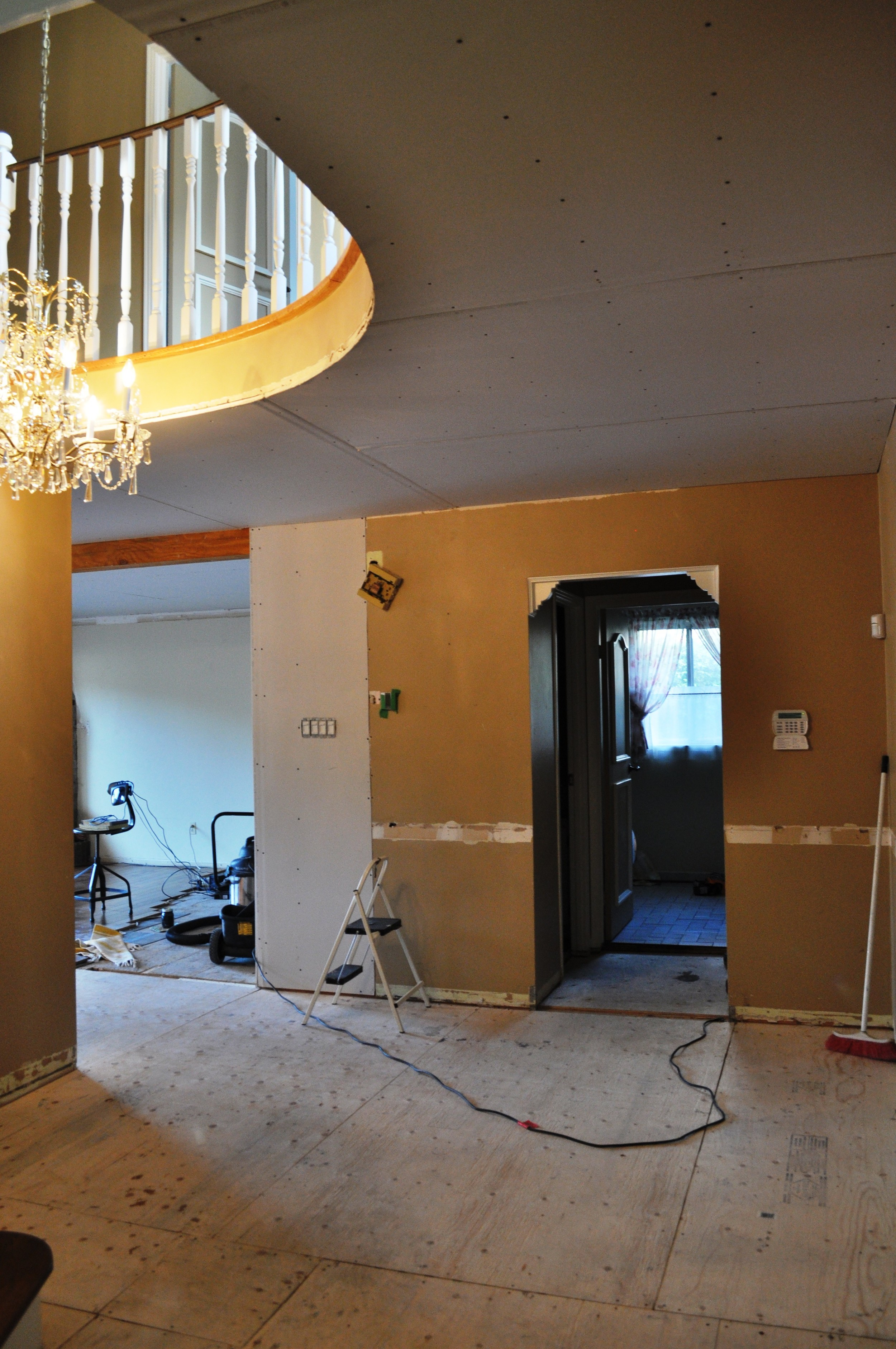 Entrance Drywall 3