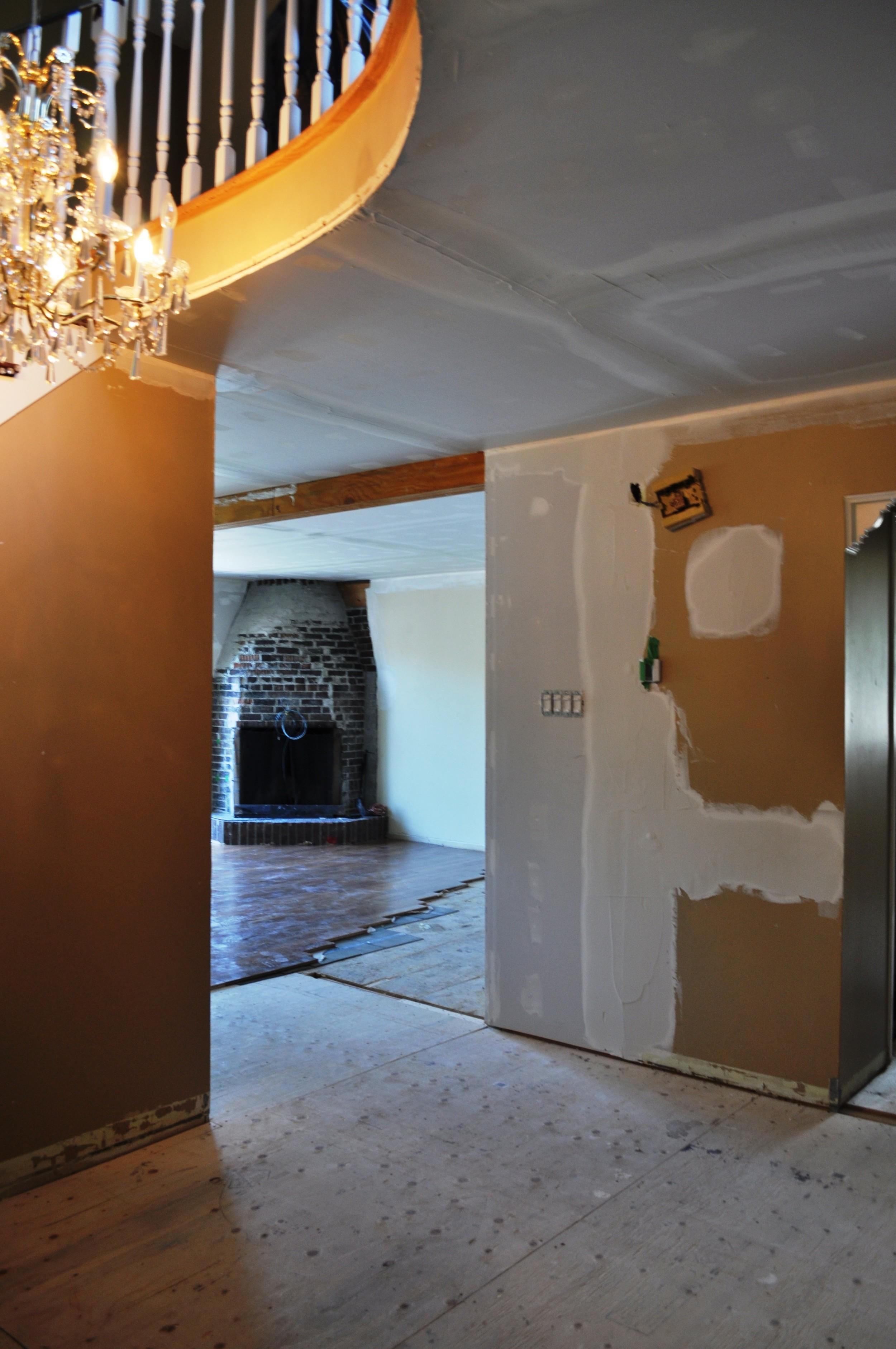 Entrance Plastering 2