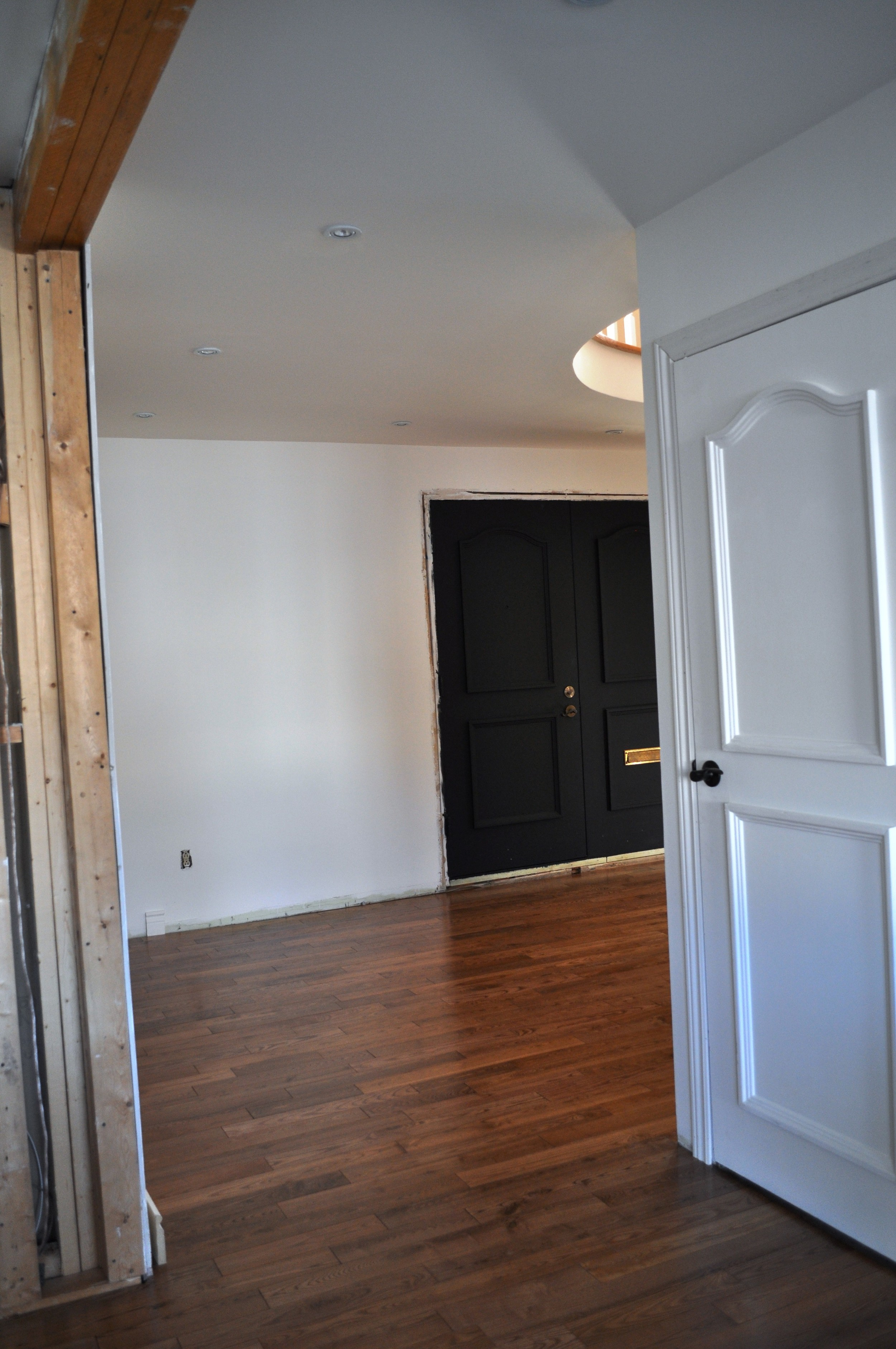 Front Entrance, view From Family Room