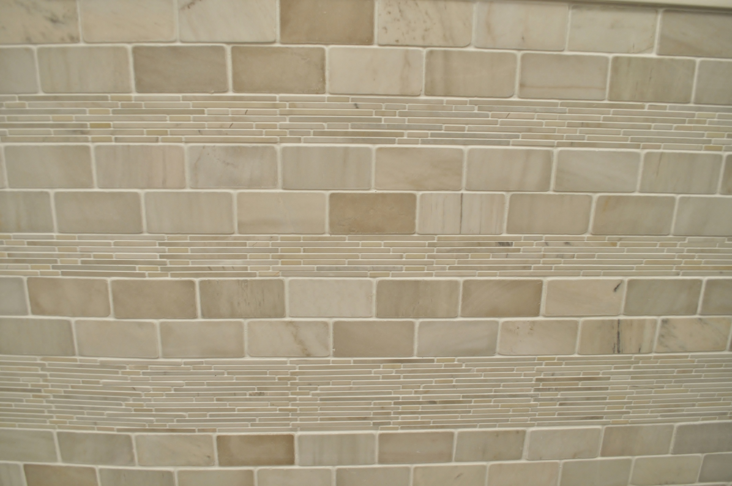Tile Pattern, After Grout