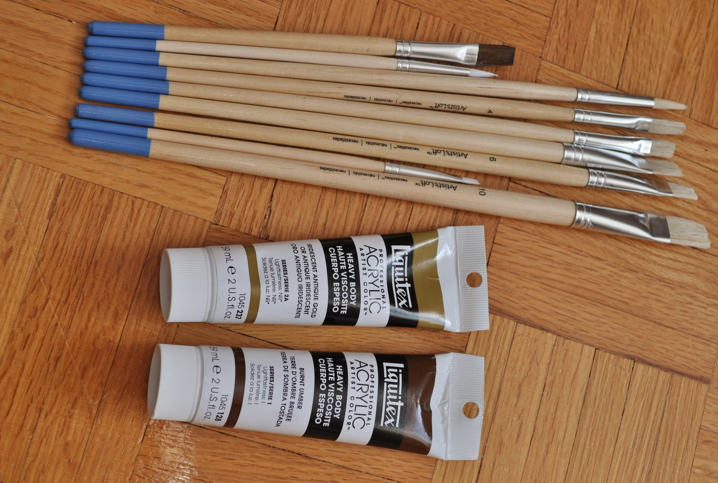 Supplies for Chandelier DIY