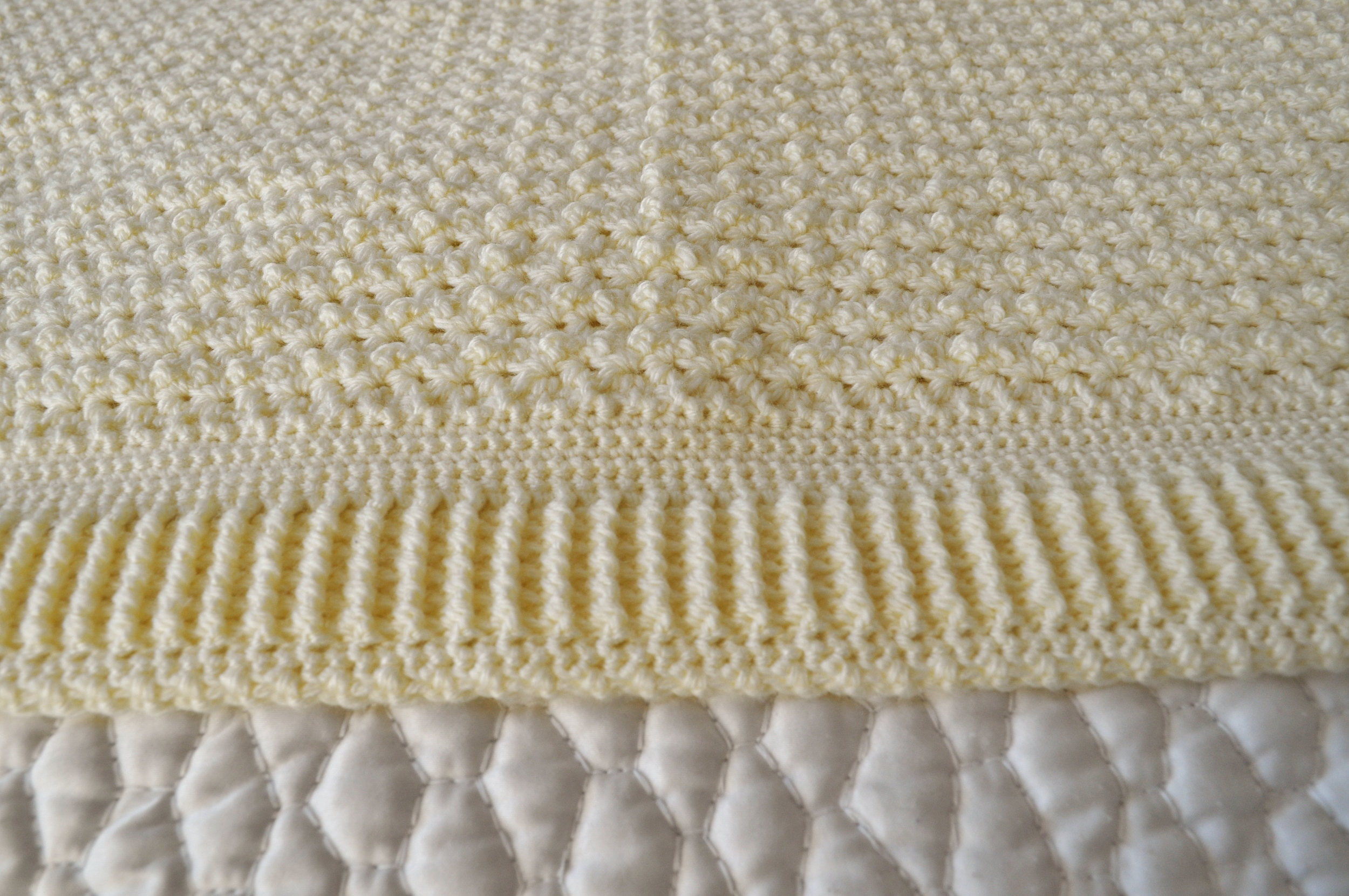 Crocheted Blanket Close up