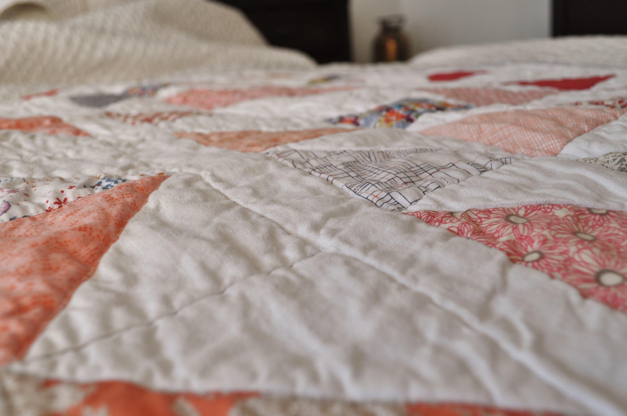 Quilt Pattern Closeup
