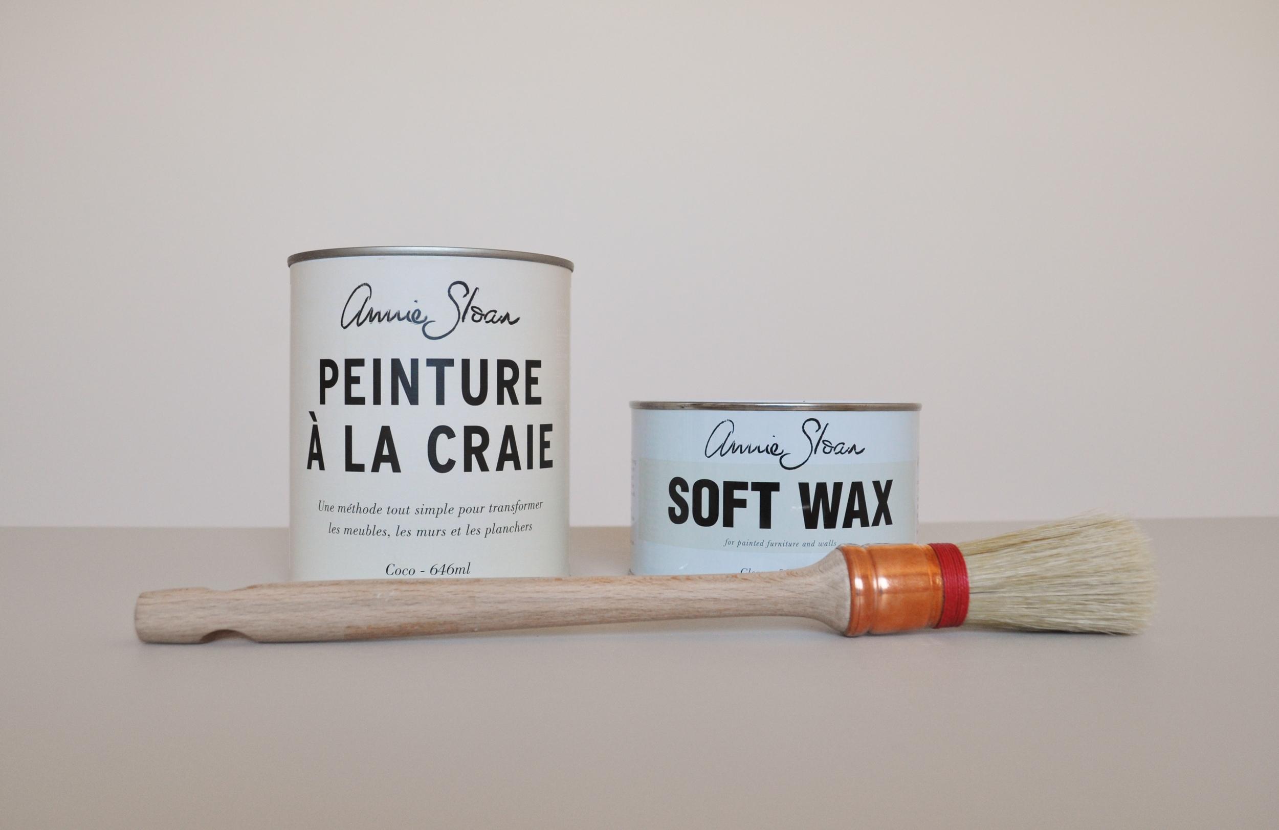 Annie Sloan Paint & Clear Wax