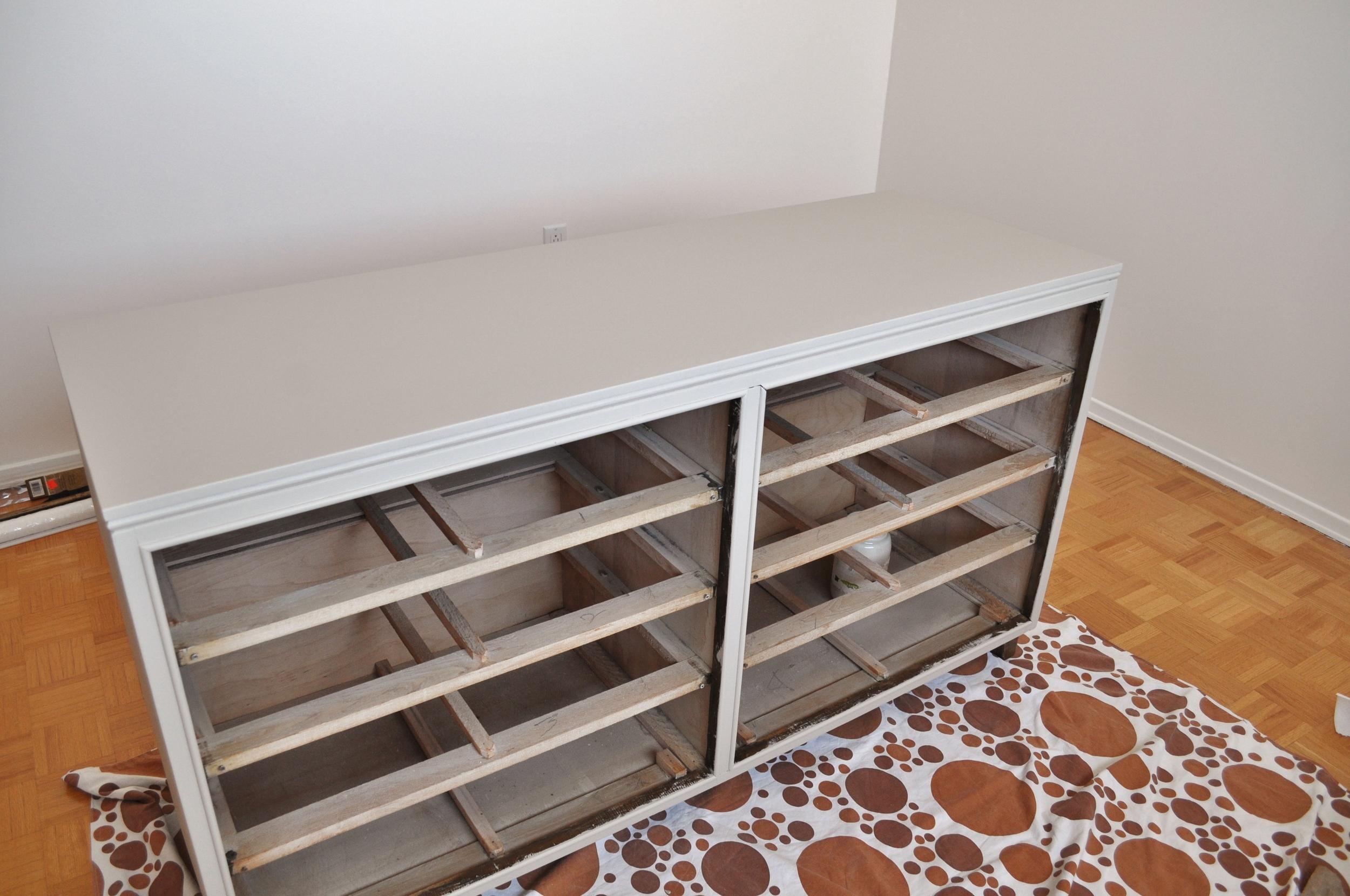 Dresser, First Paint Color