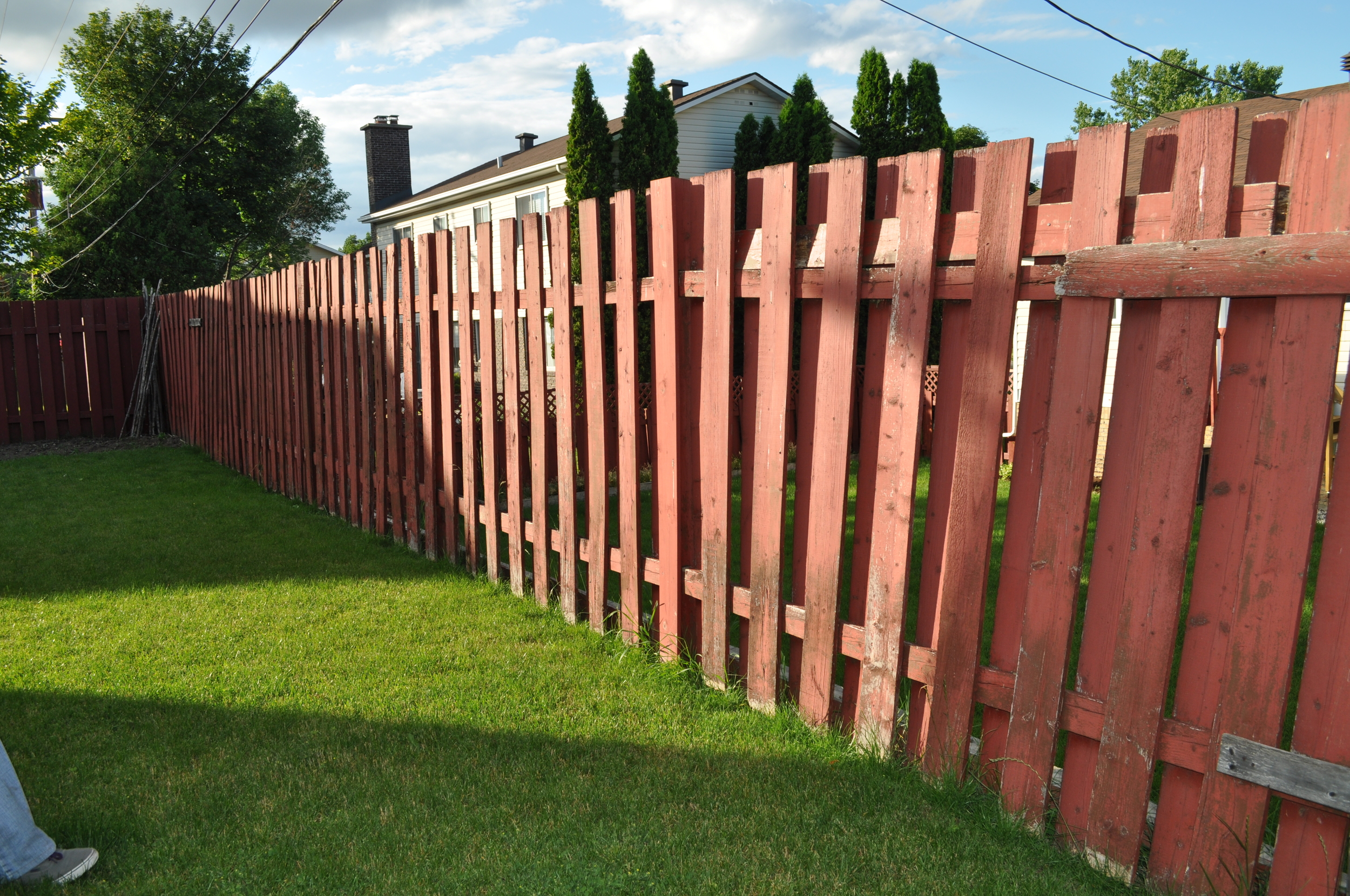 Fence, before reno