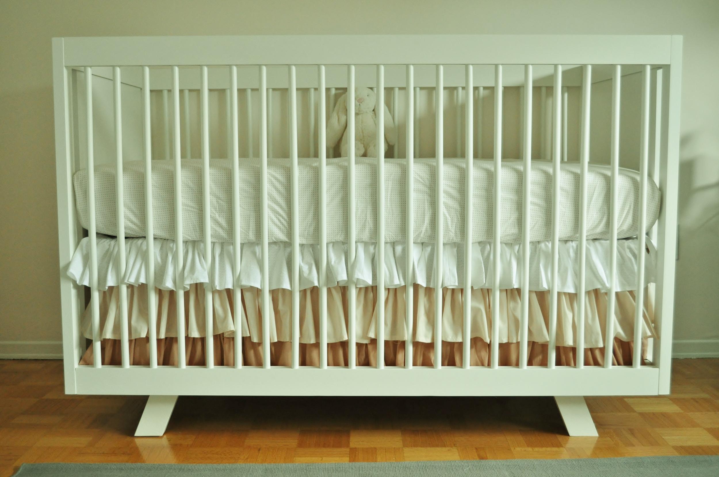 Crib, Ruffled Skirt
