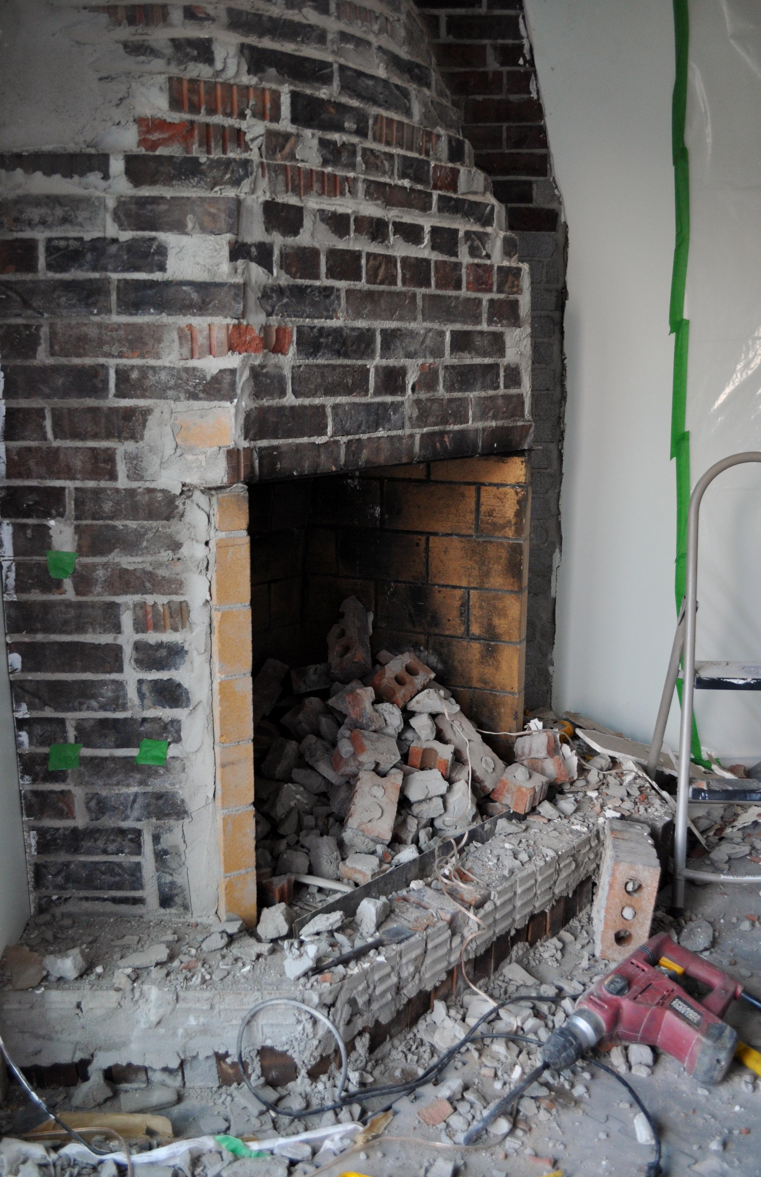 First Bricks Removed