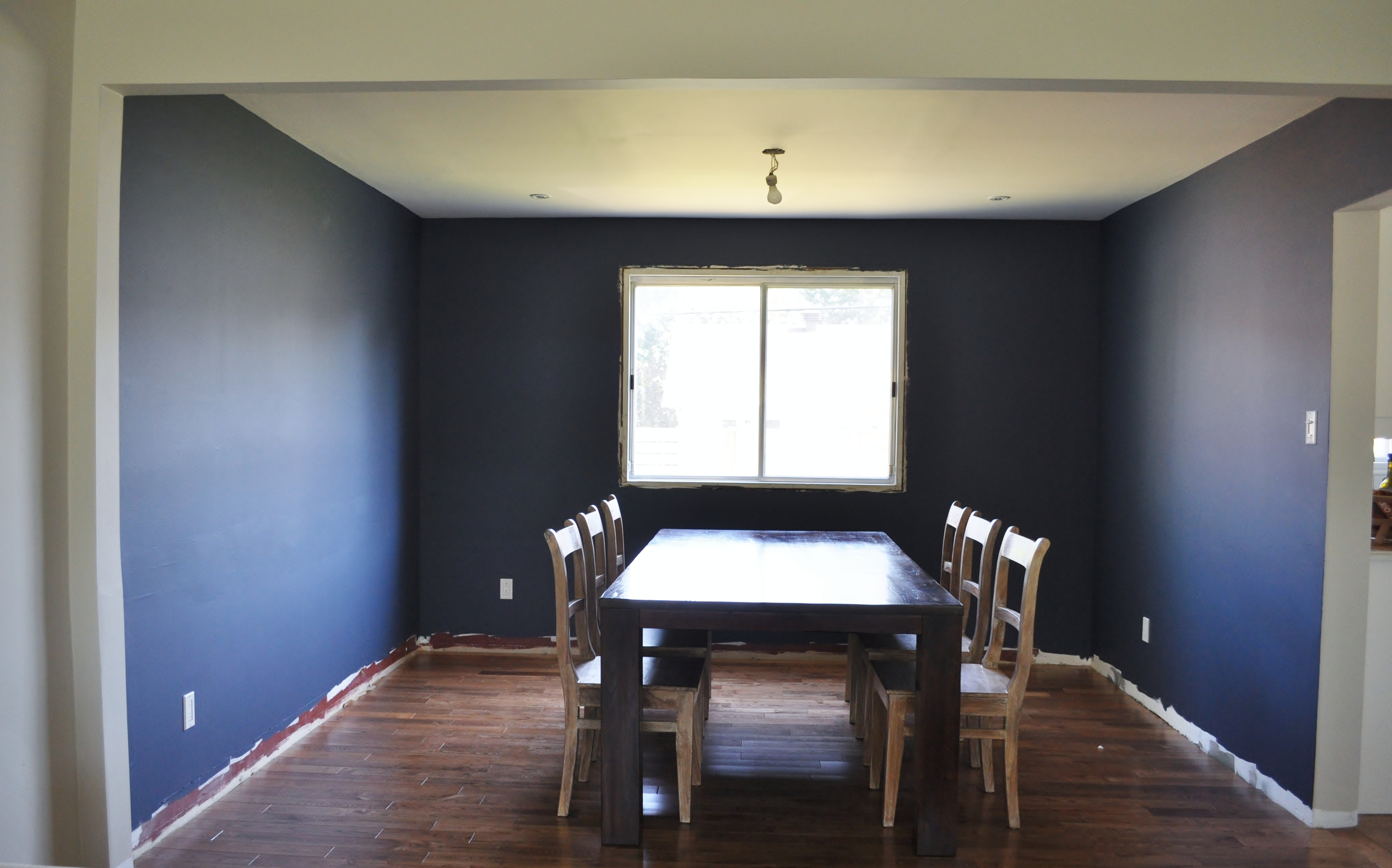 Navy Dining Room, Full View