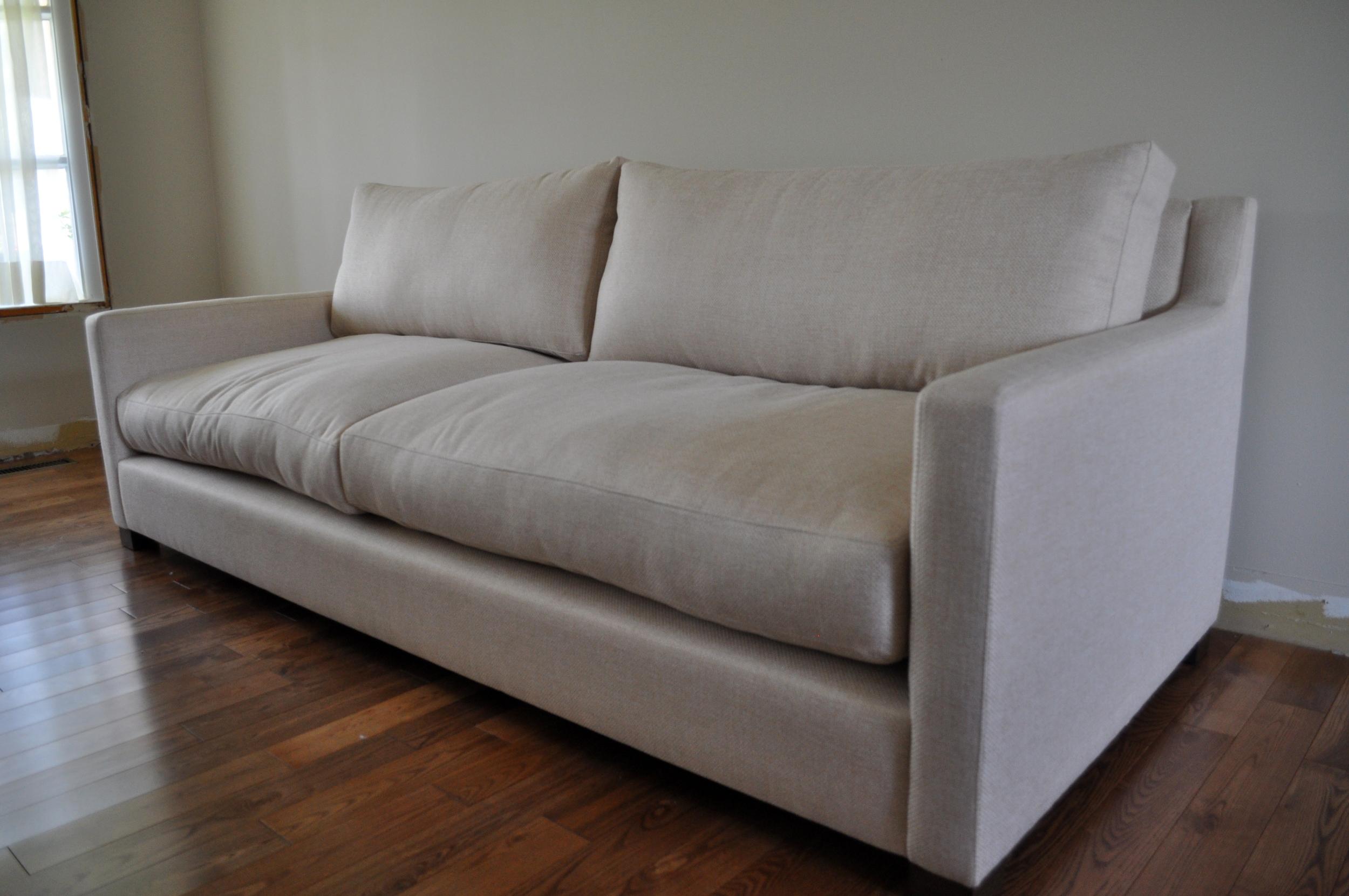 Cream Sofa, Angle view