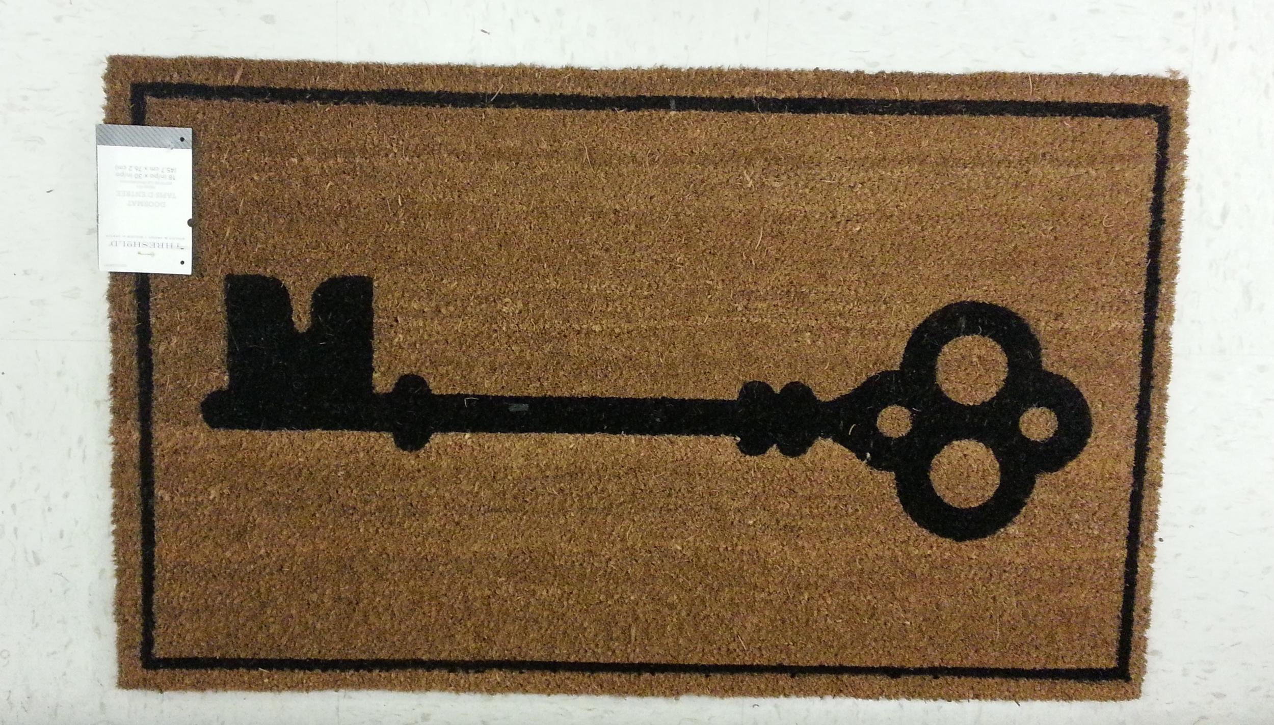key floor mat TARGET