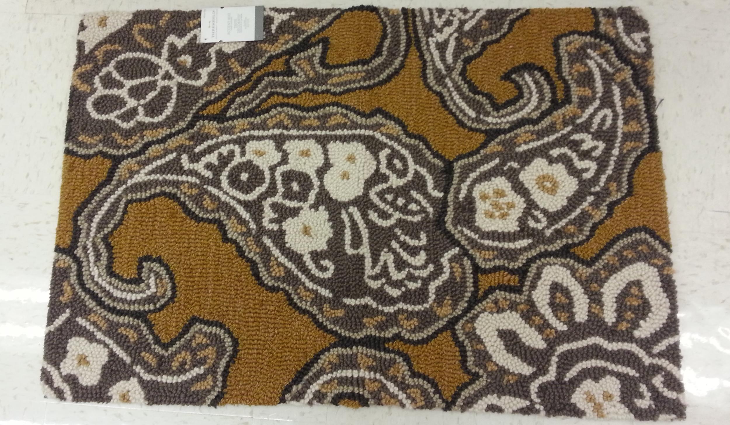 paisley floor mat TARGET