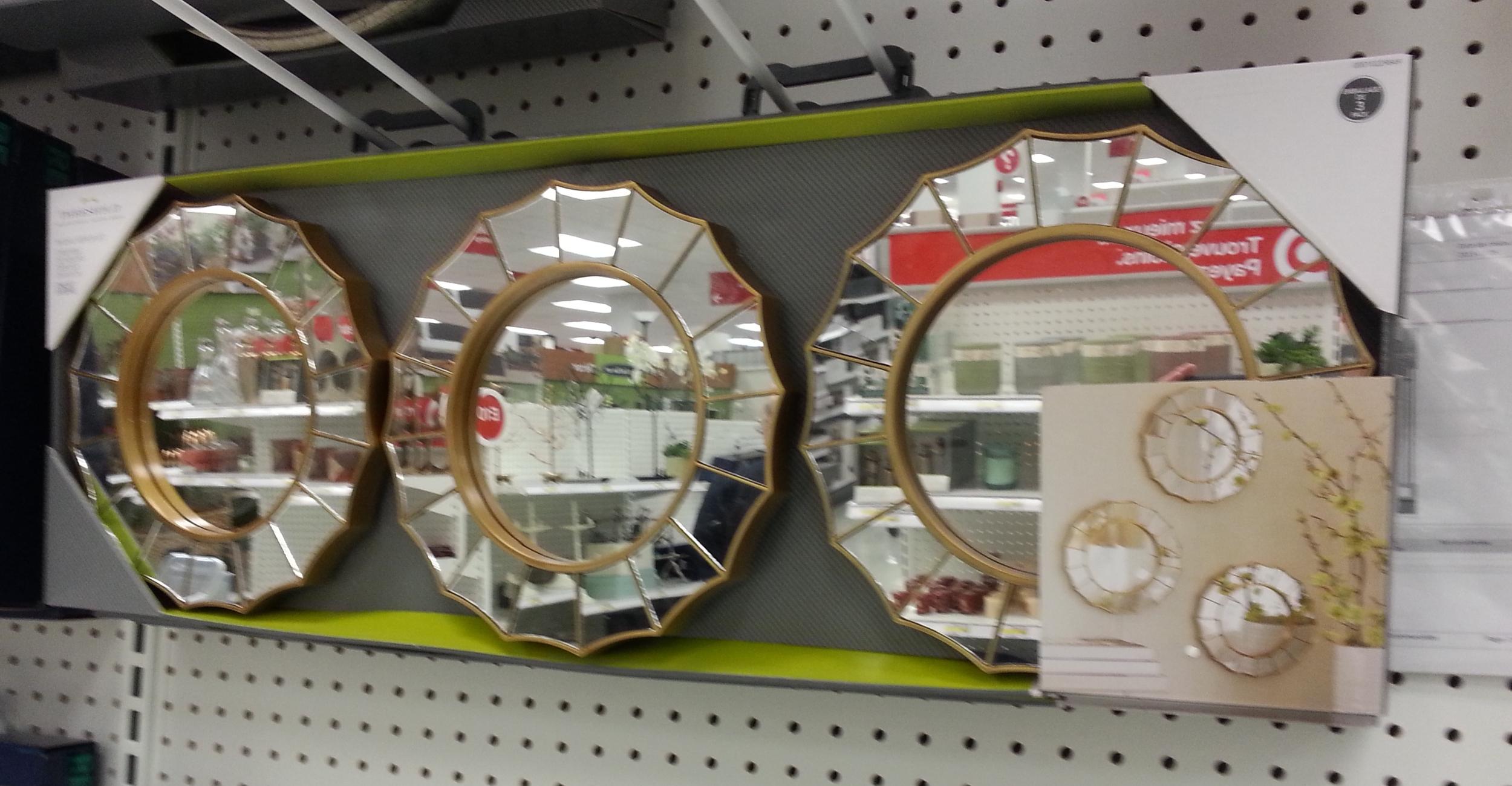 set of mirrors TARGET