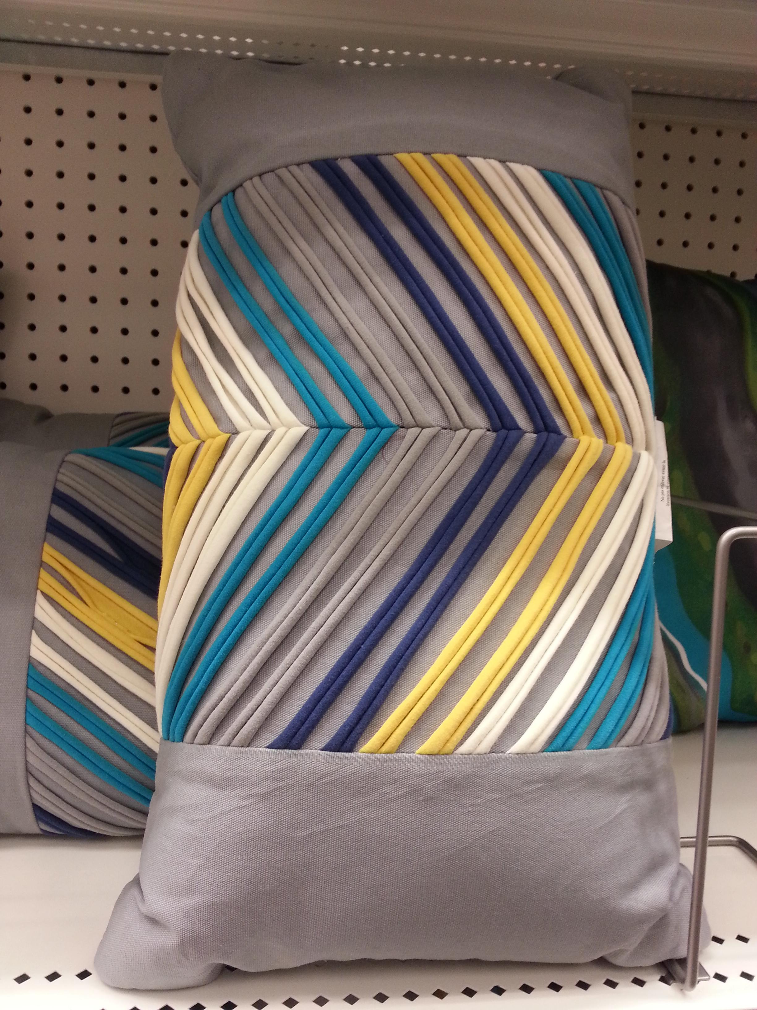 striped pillow TARGET