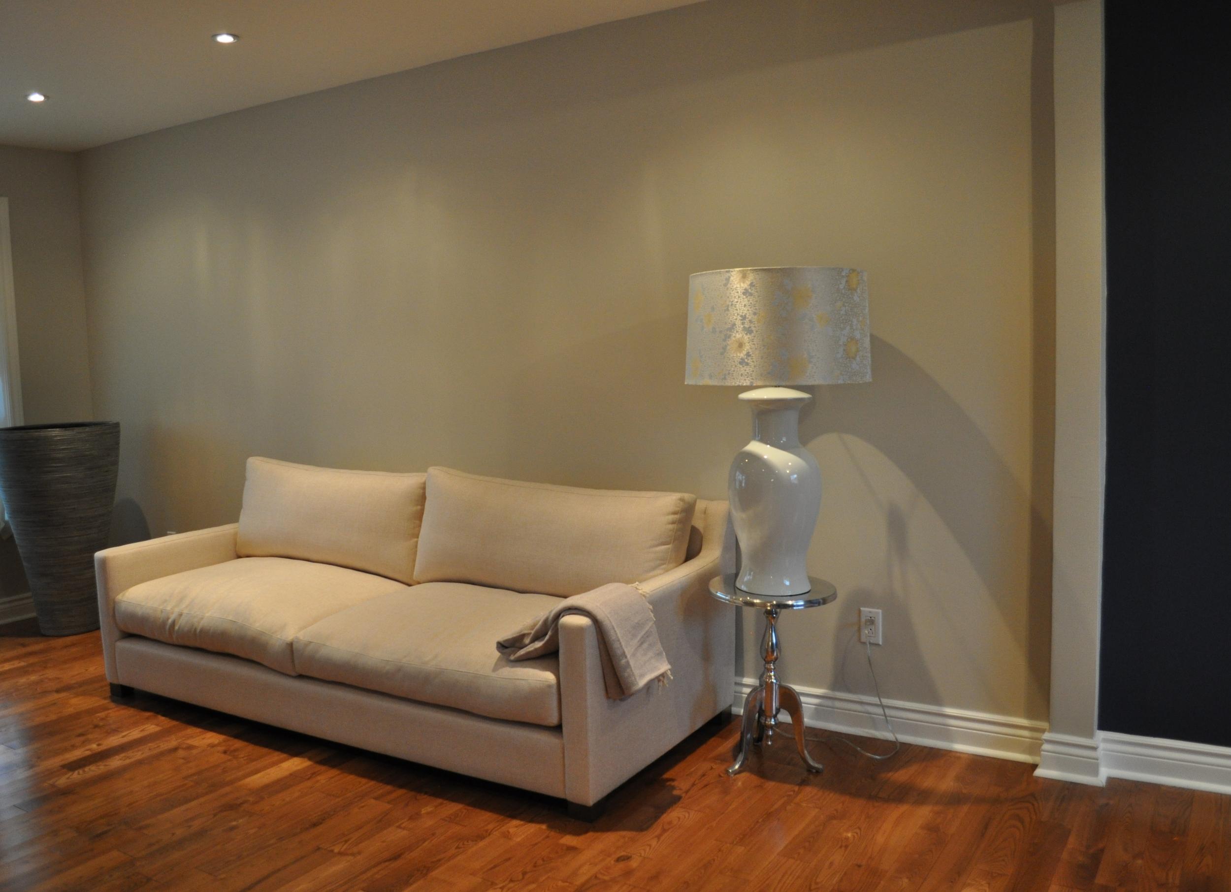 Living Room, Sofa wall