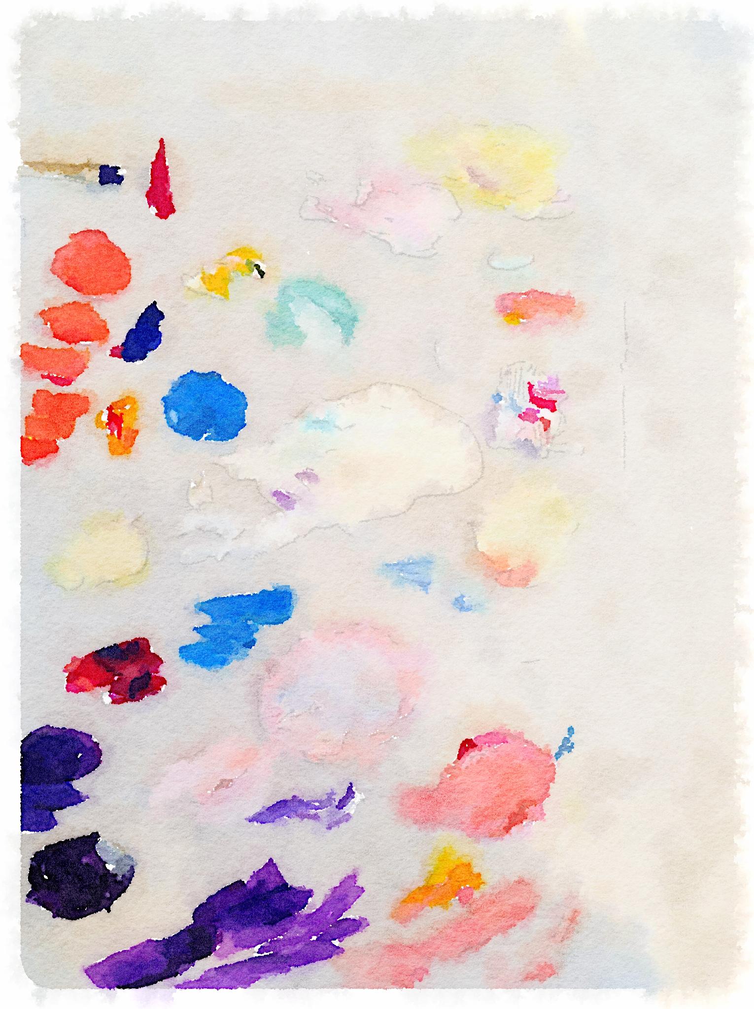 Paint Palette Waterlogue