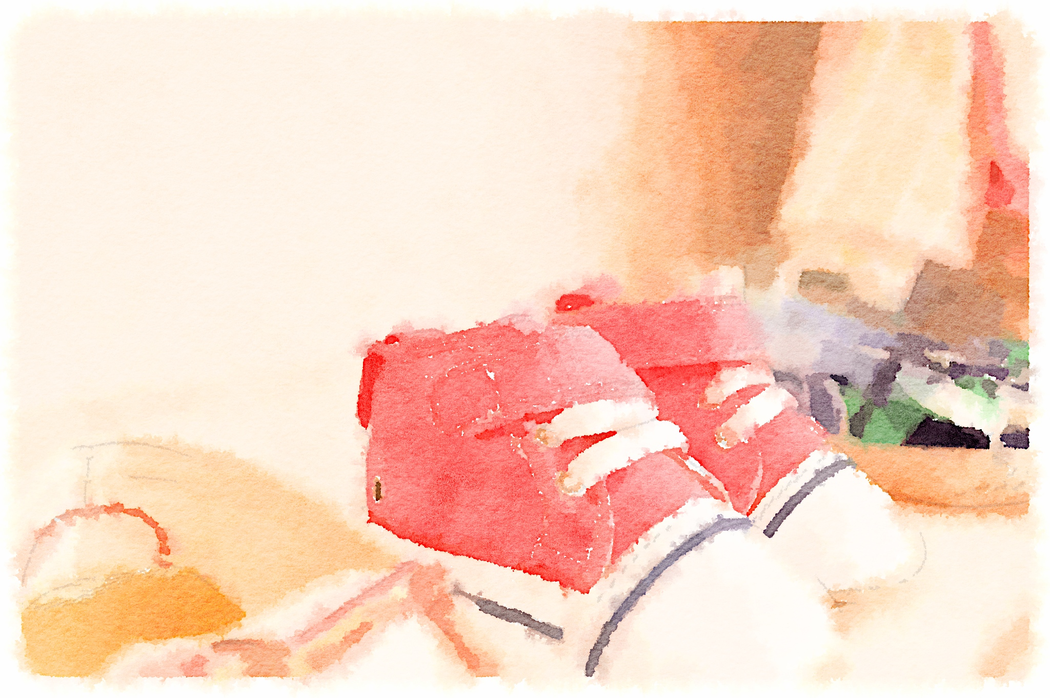 Baby shoes Waterlogue