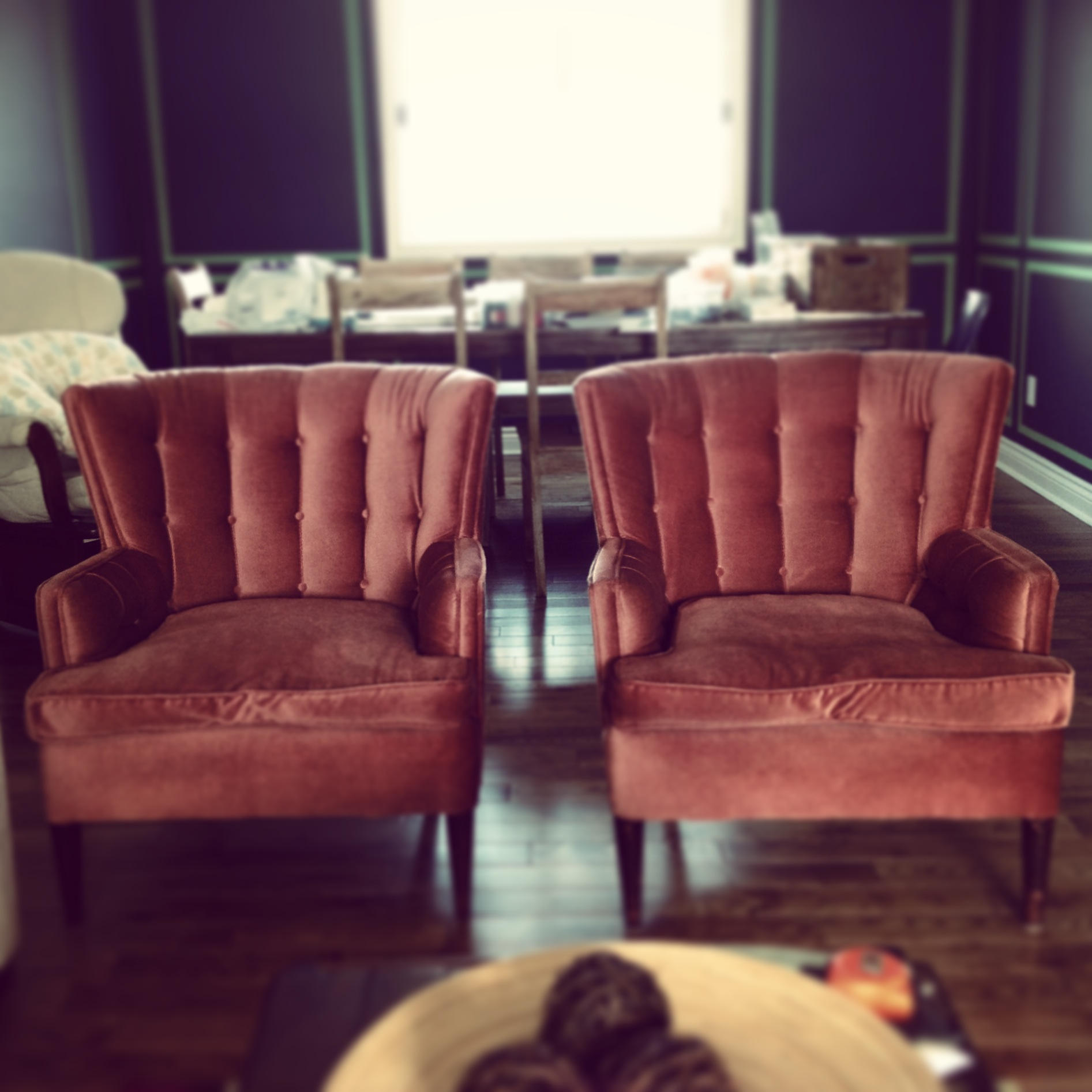 Pretty In Pink Chairs