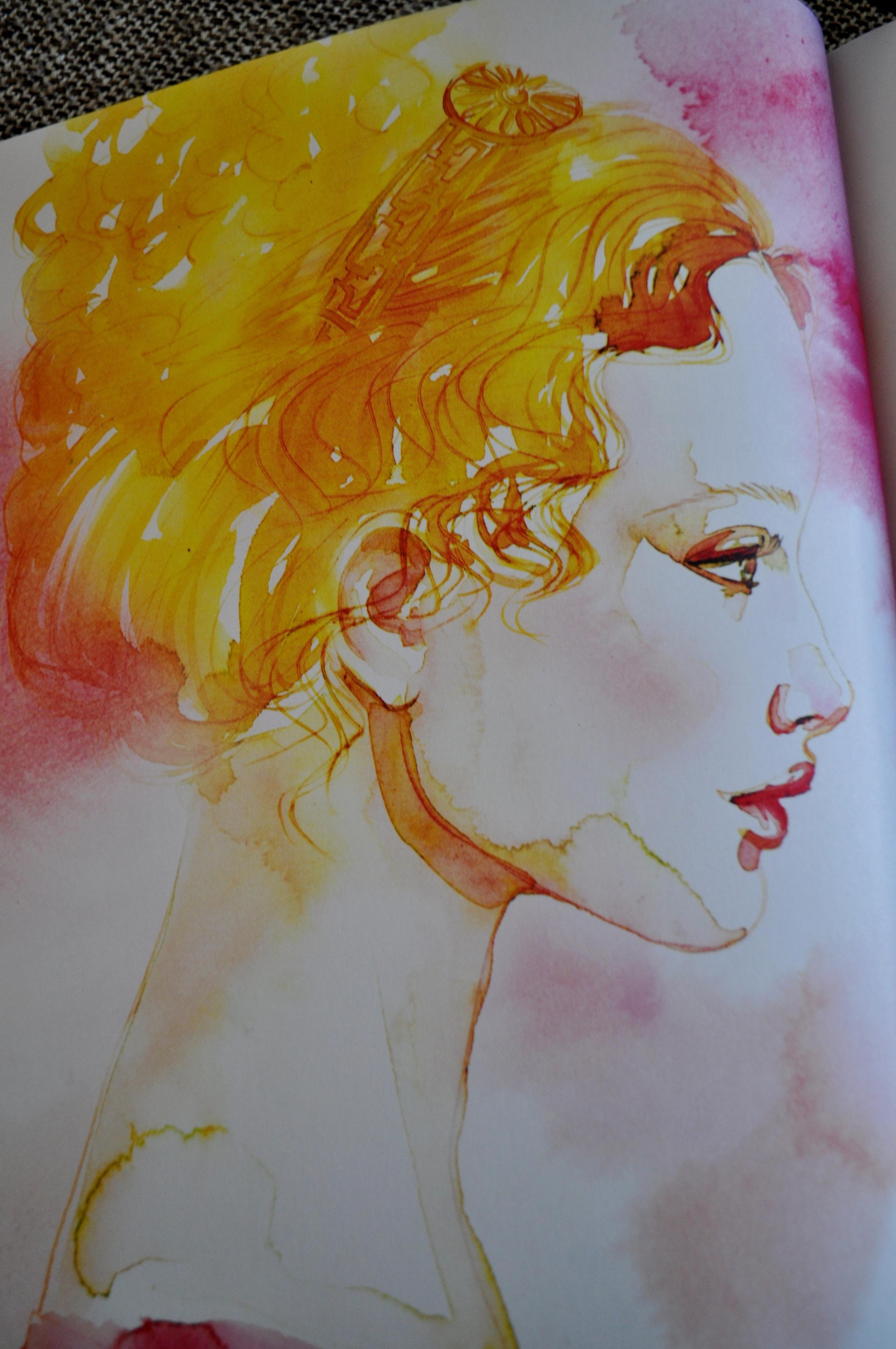 Emma Watercolor