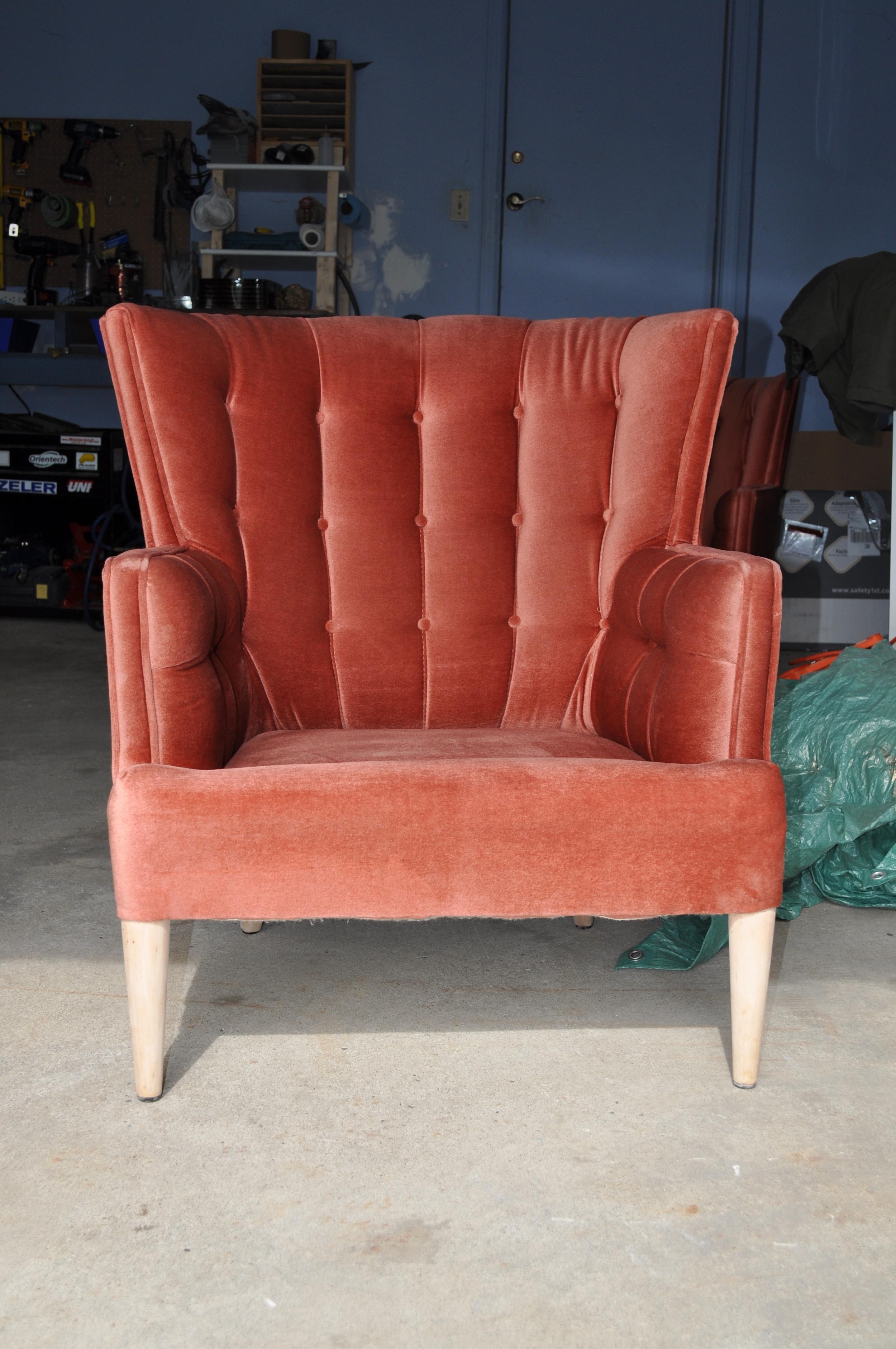 Chair Legs Sanding complete